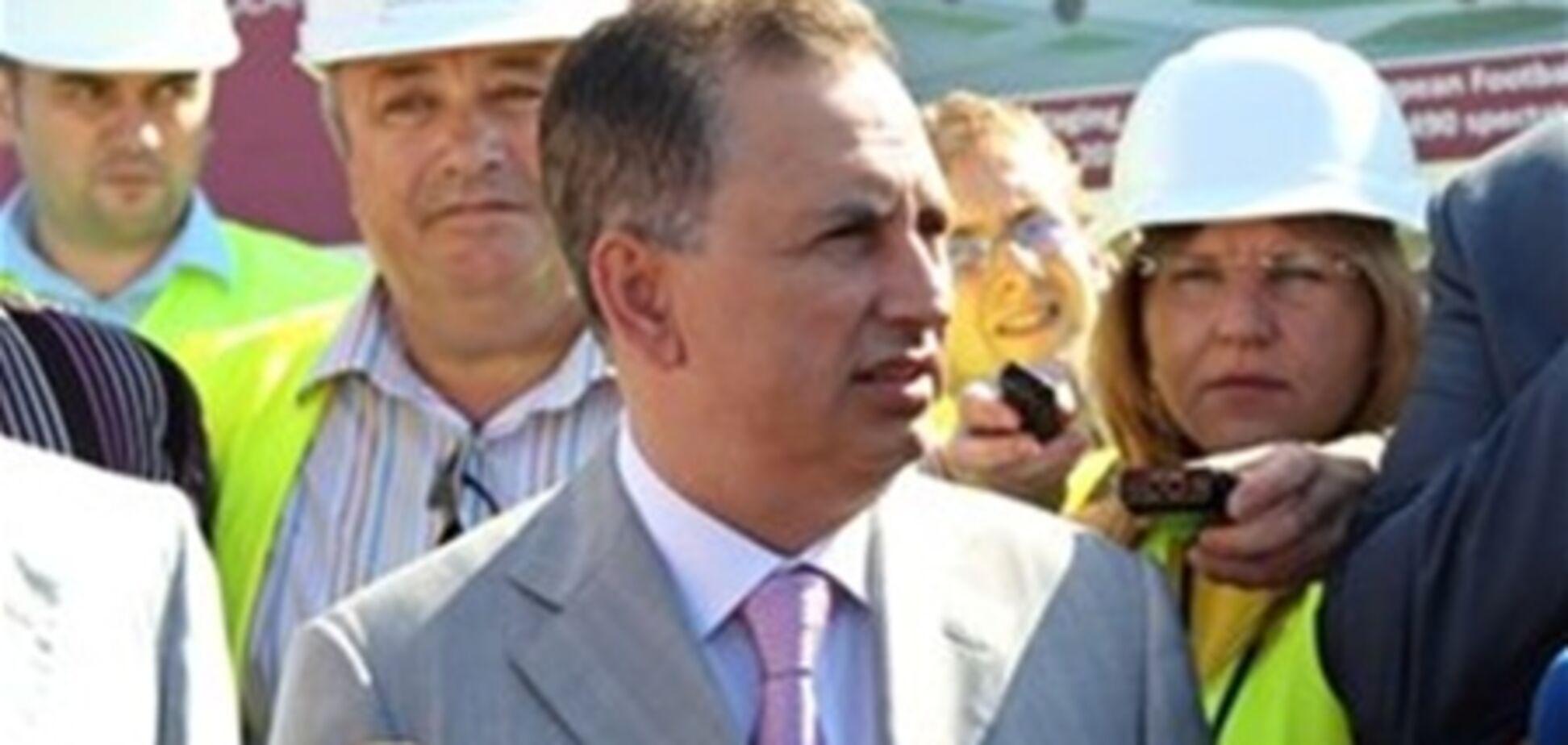 Колесніков проінспектував будівництво львівського аеропорту