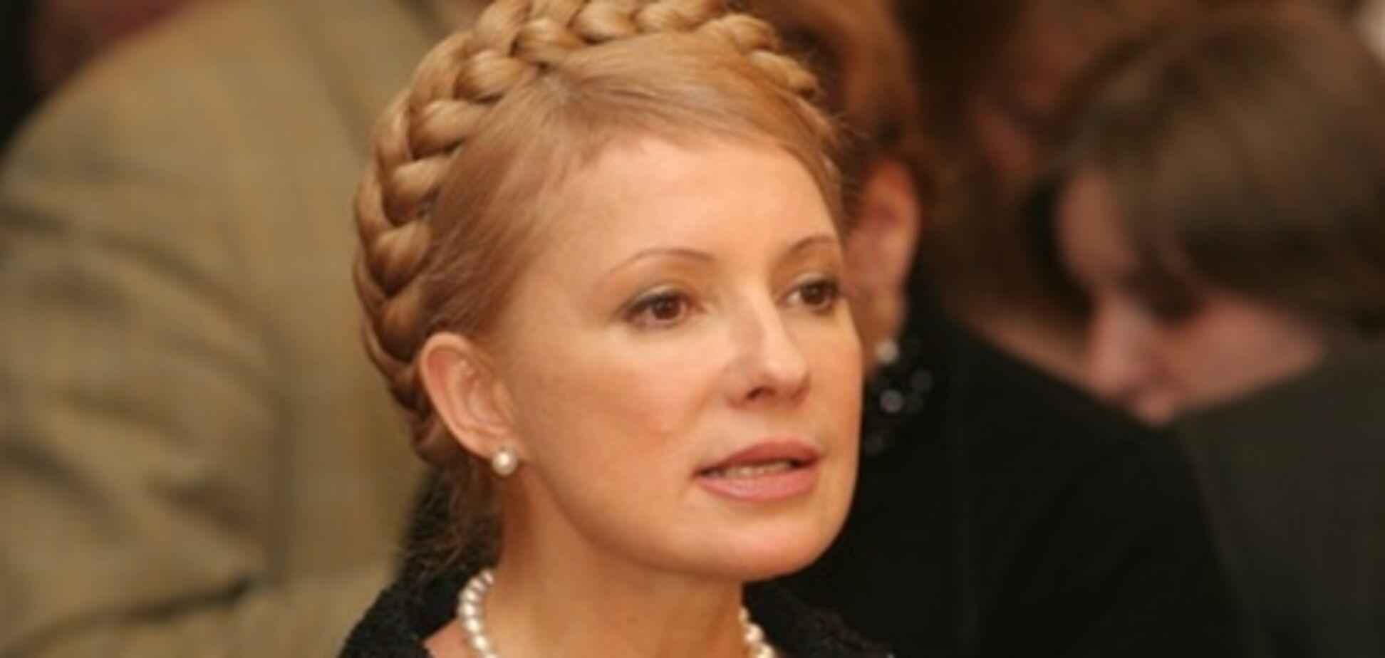 Тимошенко говорит, что не собирается бежать из Украины