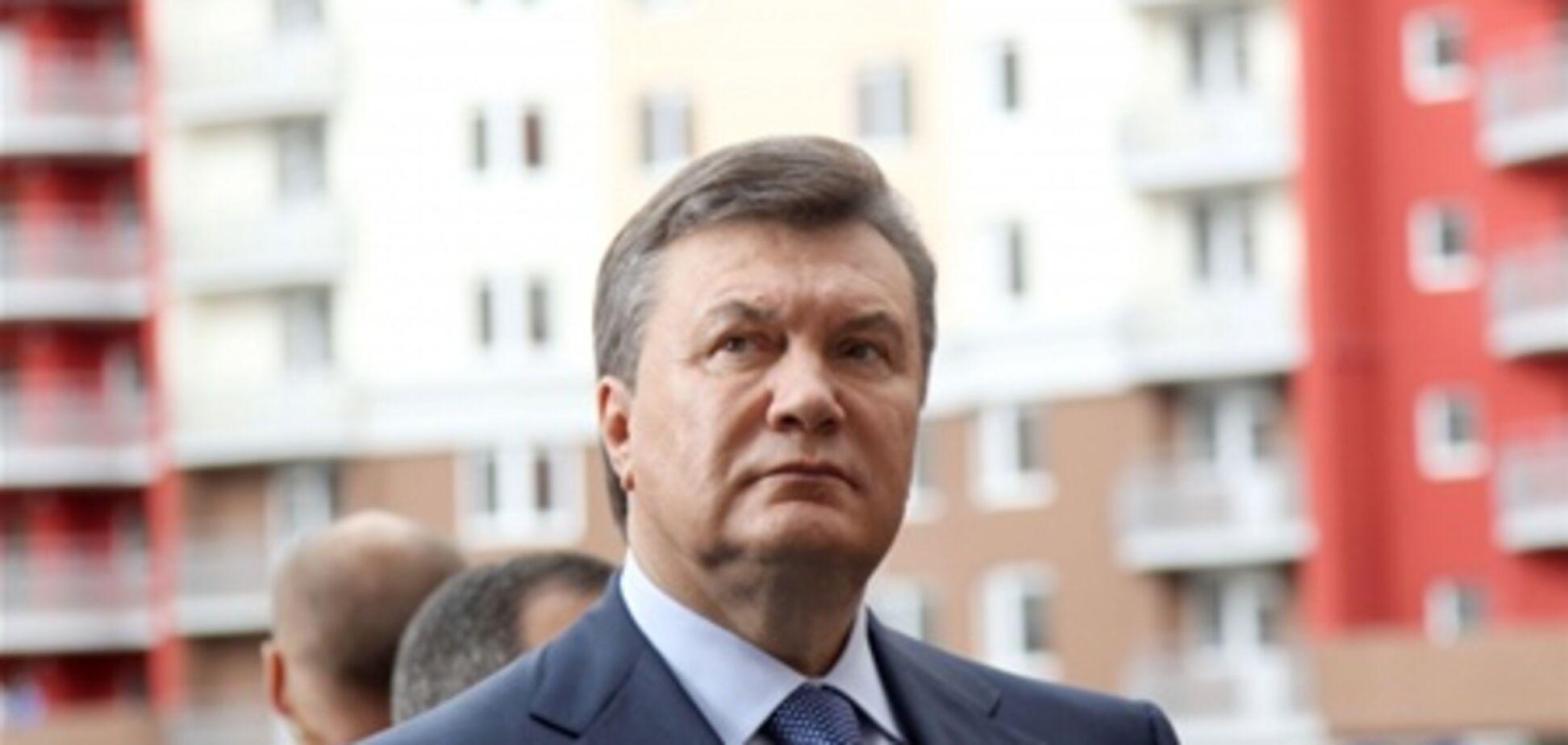 Янукович прибыл в Луганскую область