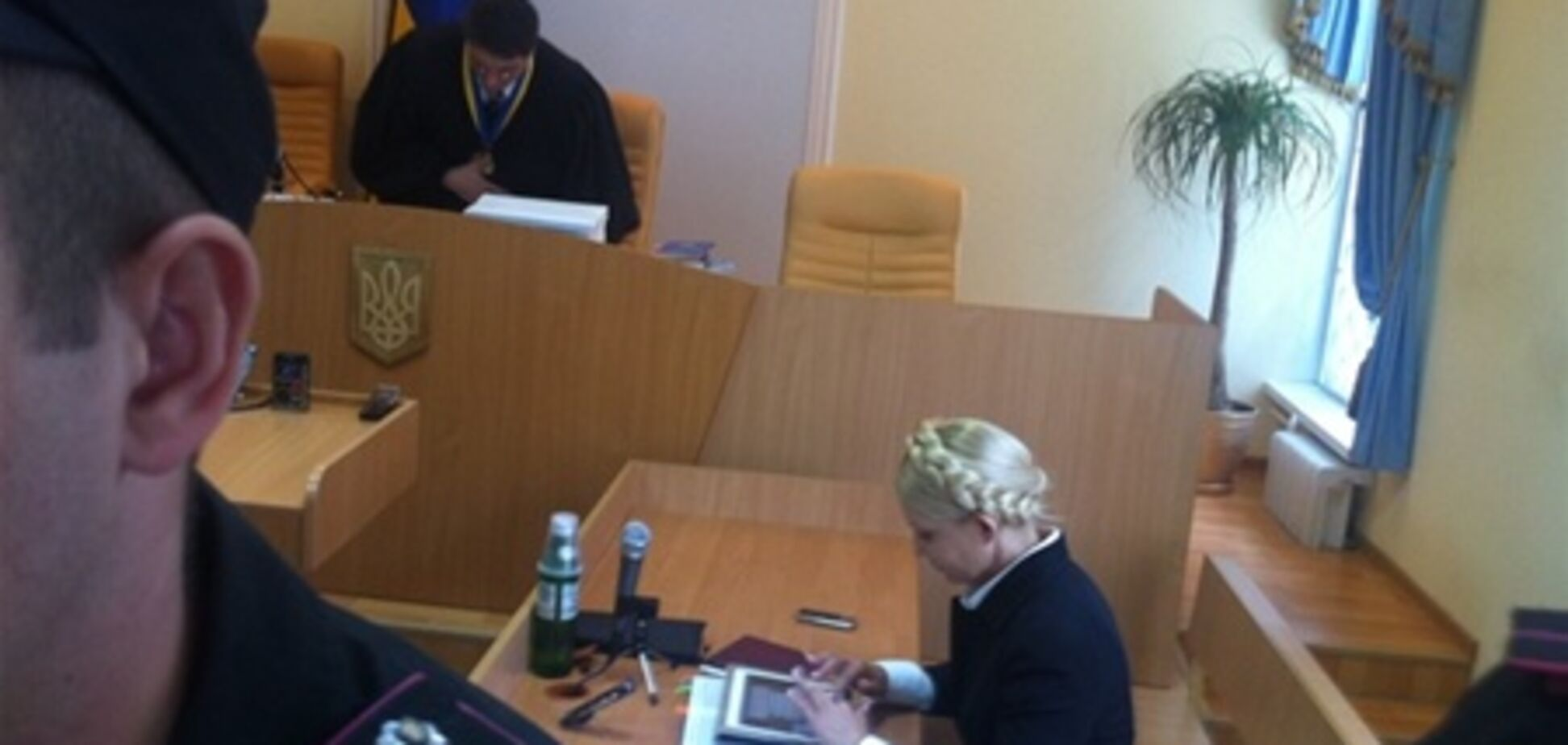 Суд по делу Тимошенко закрылся до 1 августа
