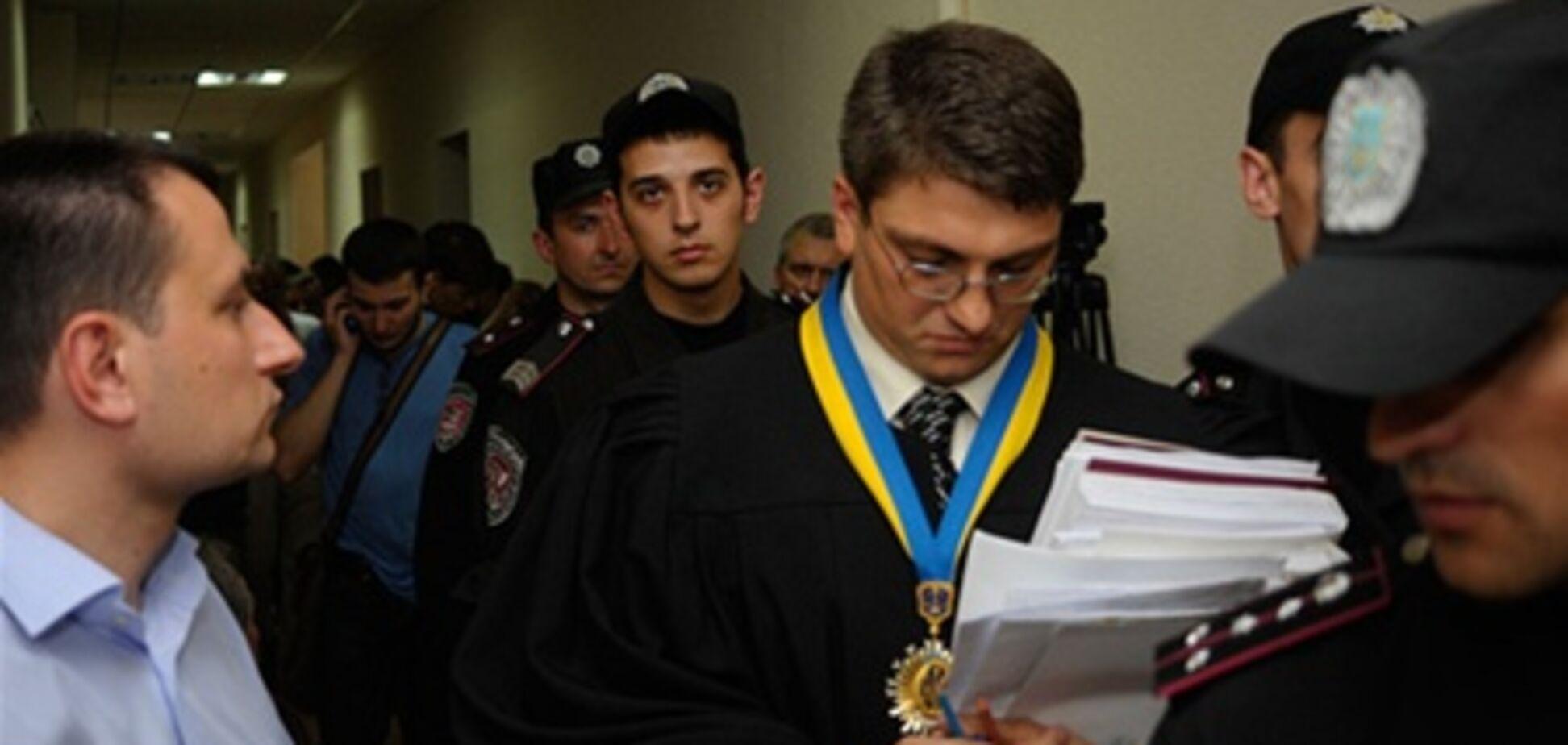 В деле Тимошенко очередной перерыв