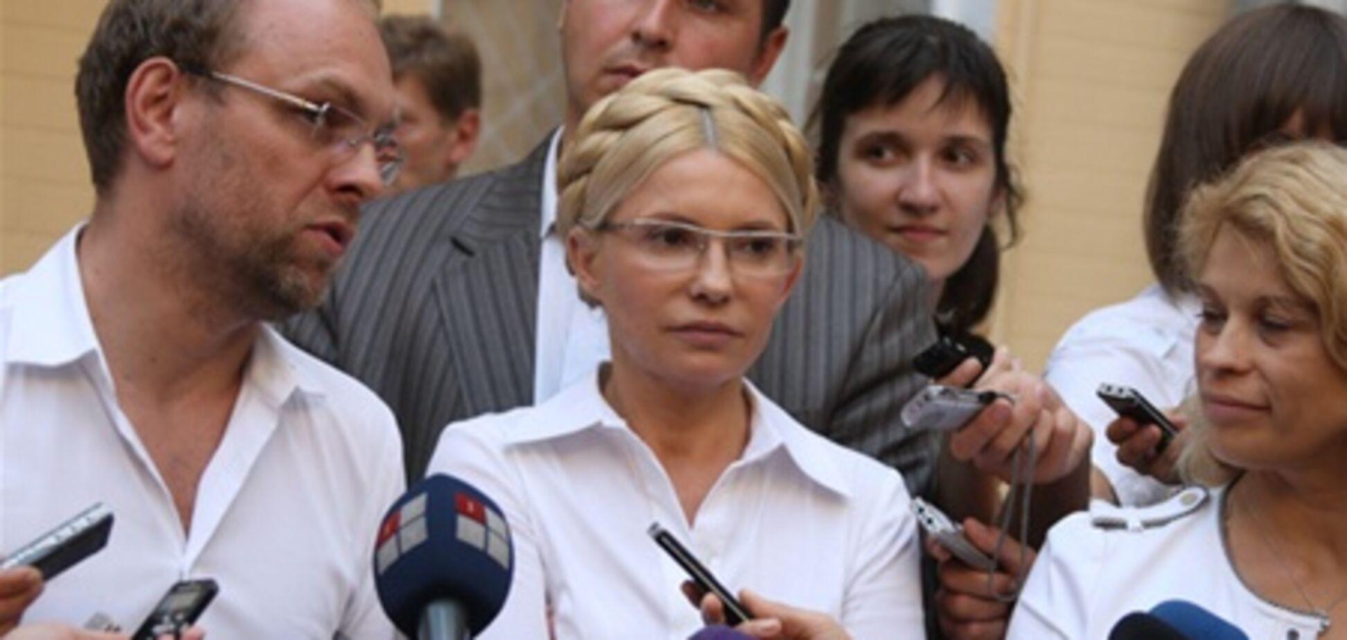 Тимошенко обещает продолжение 'веселой жизни' прокурорам и судье