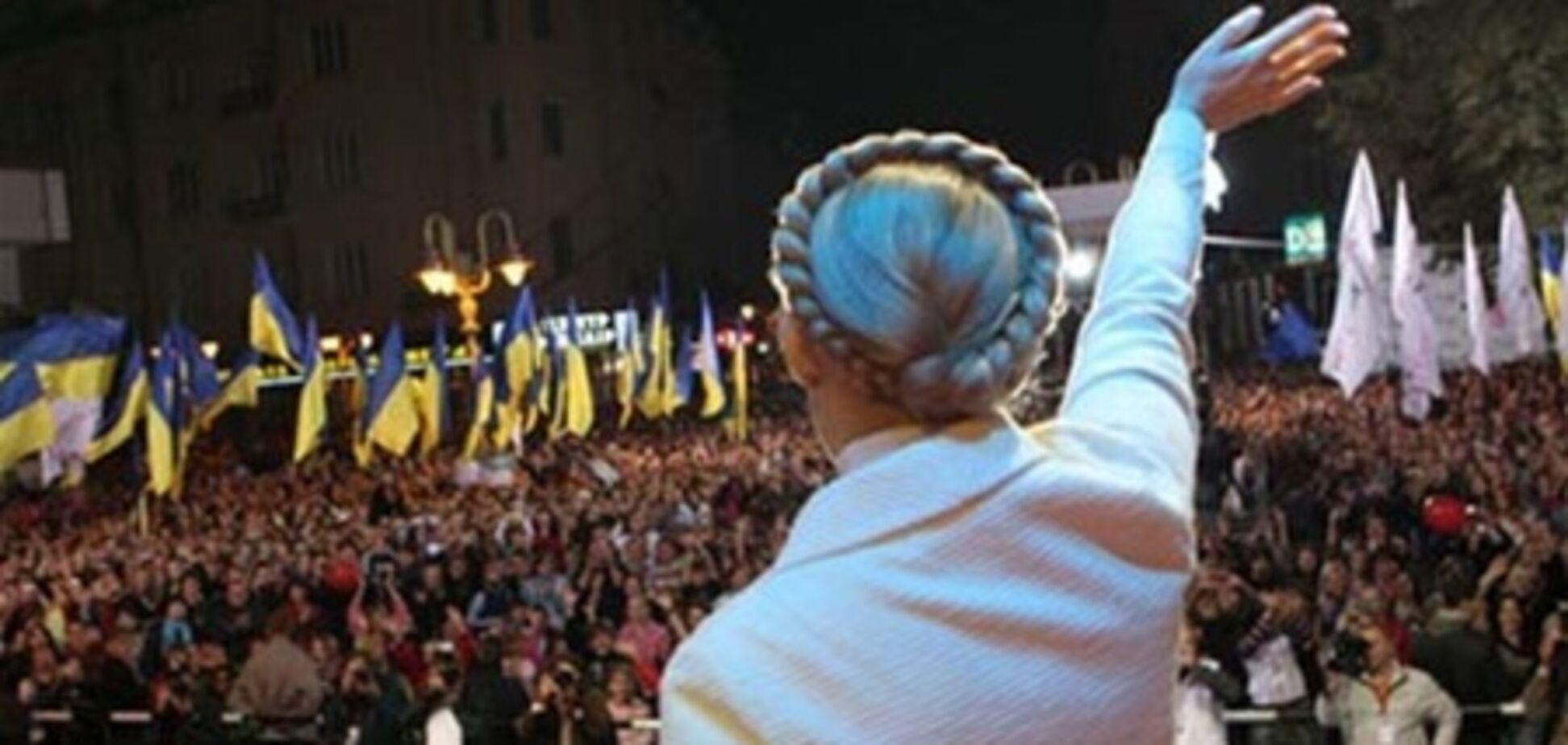 У Тимошенко обещают революцию в случае ее ареста