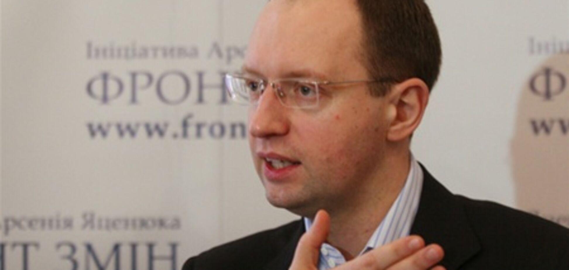 Яценюк: влада боїться українських ЗМІ