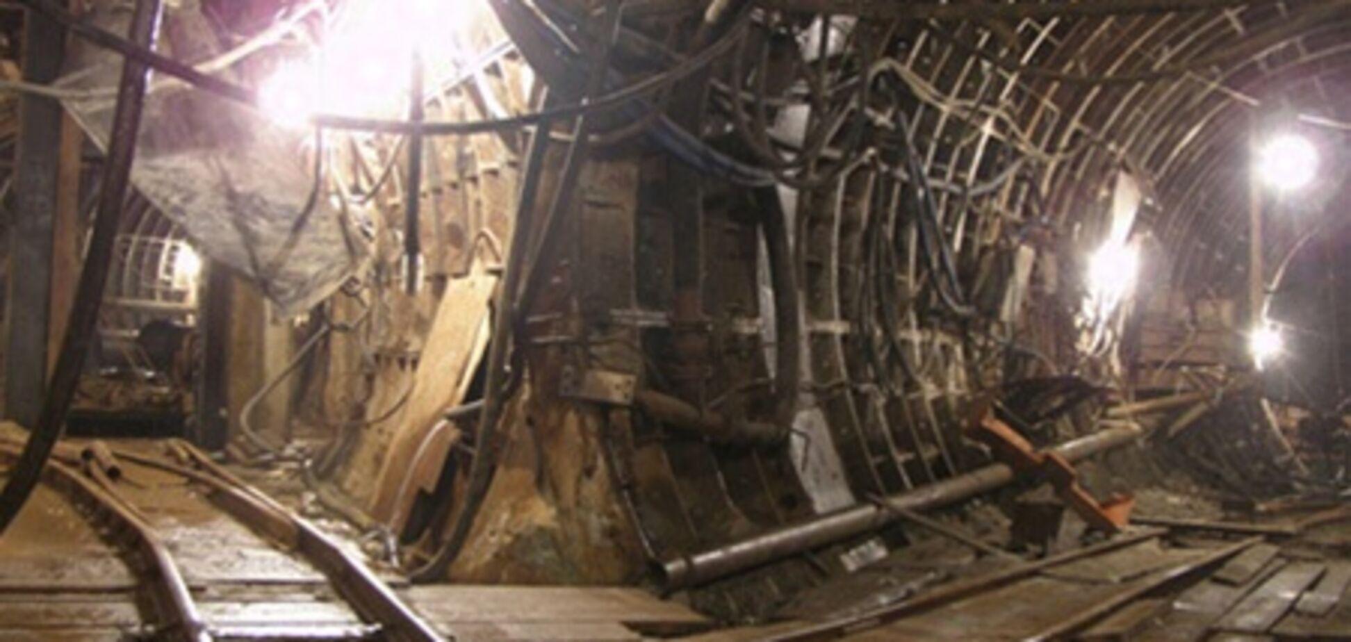 Метро на Троещину  начнут строить через год