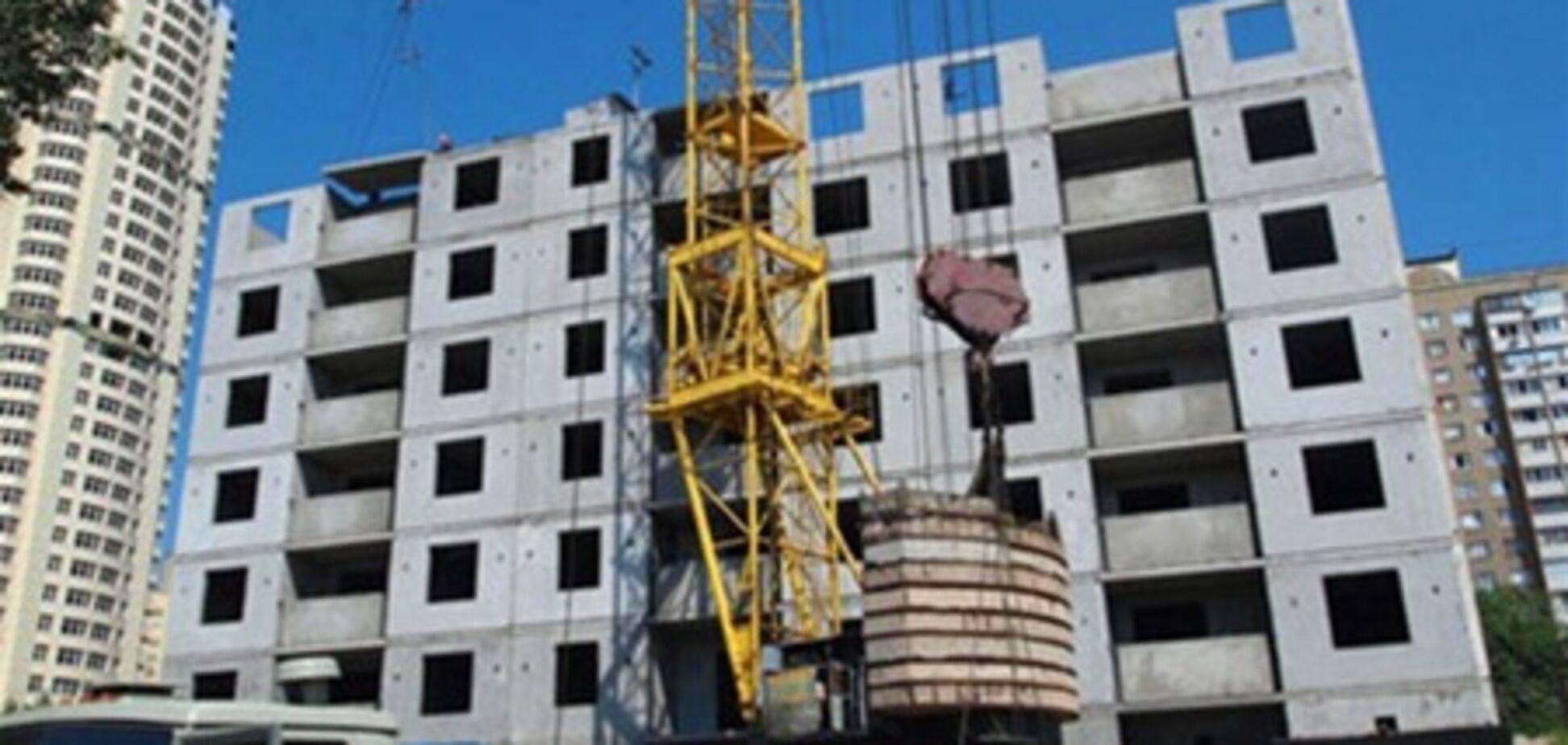 В Украине стали меньше строить, 15 августа 2011