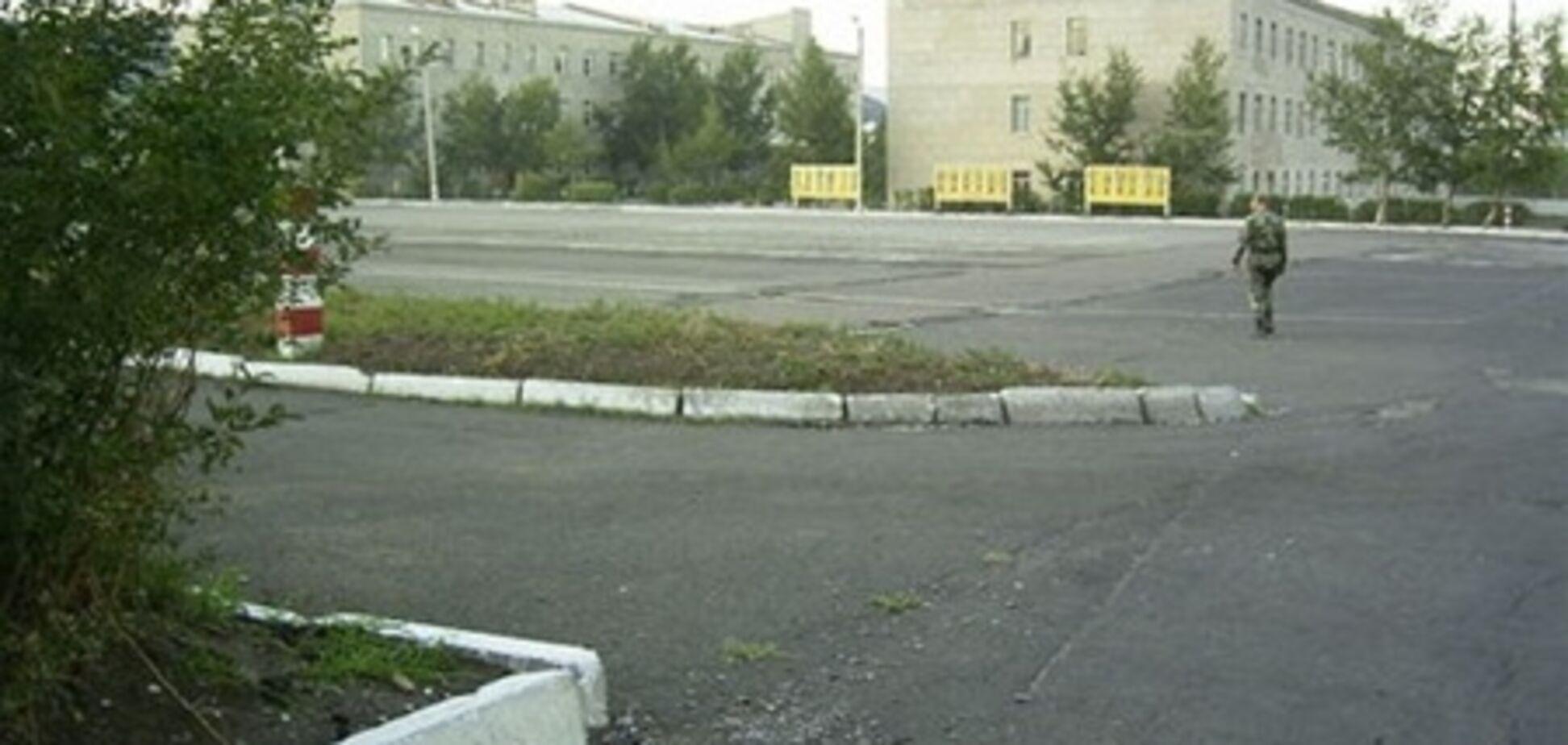 В России из части сбежал военнослужащий с автоматом