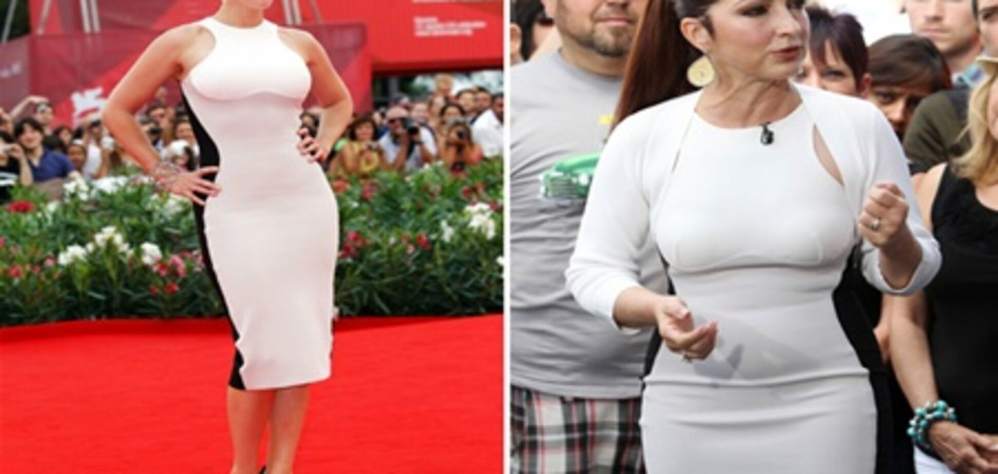 Три зірки, одну сукню: хто кого копіює? Фото