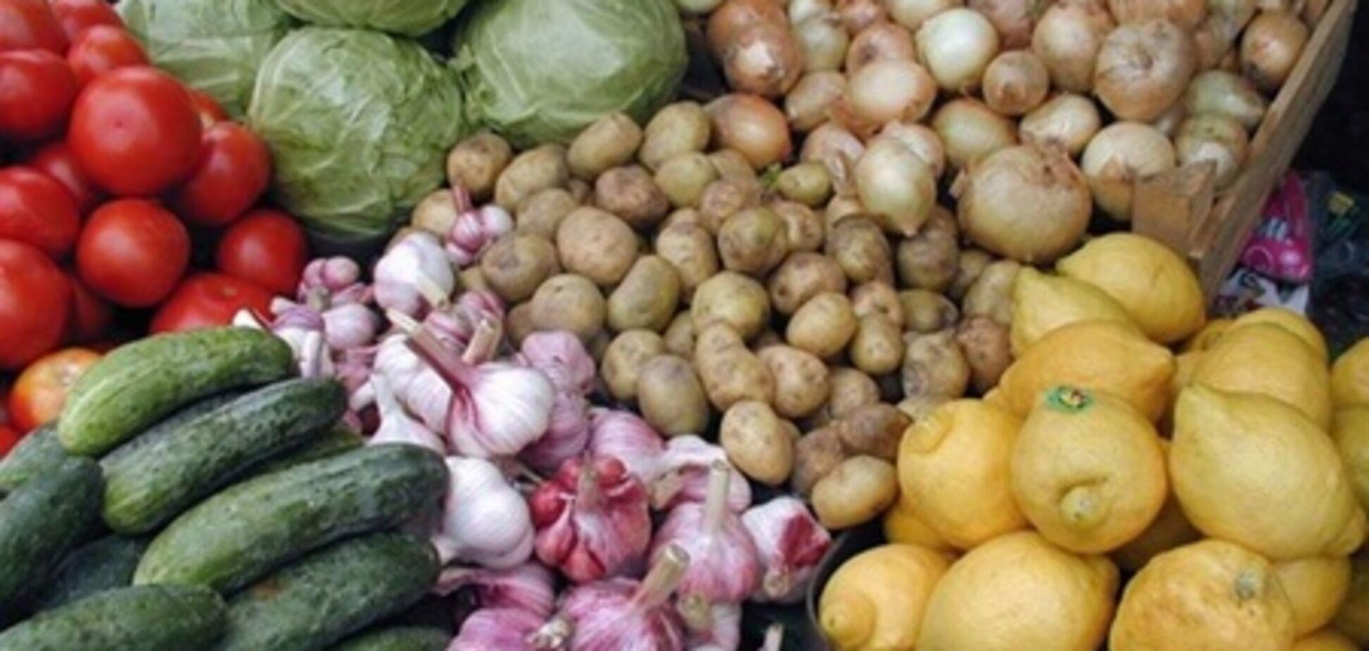 Ціни на овочі обвалилася відразу на 22%