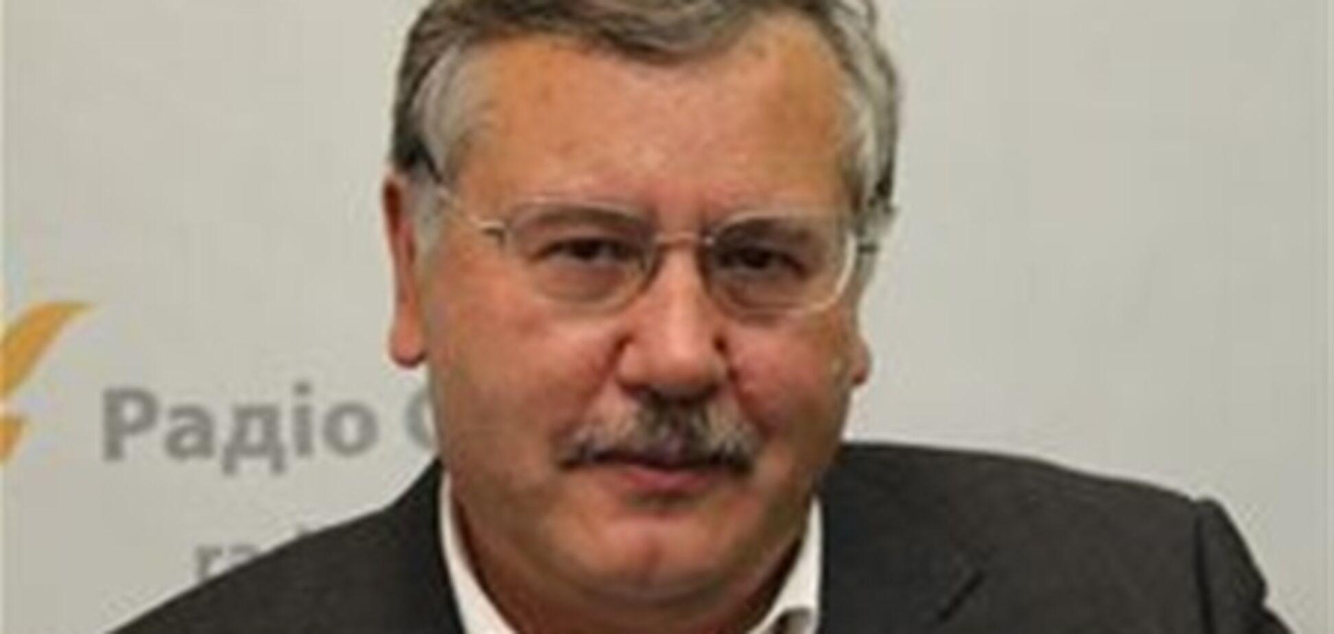 Экс-министр Гриценко: у Украины нет армии
