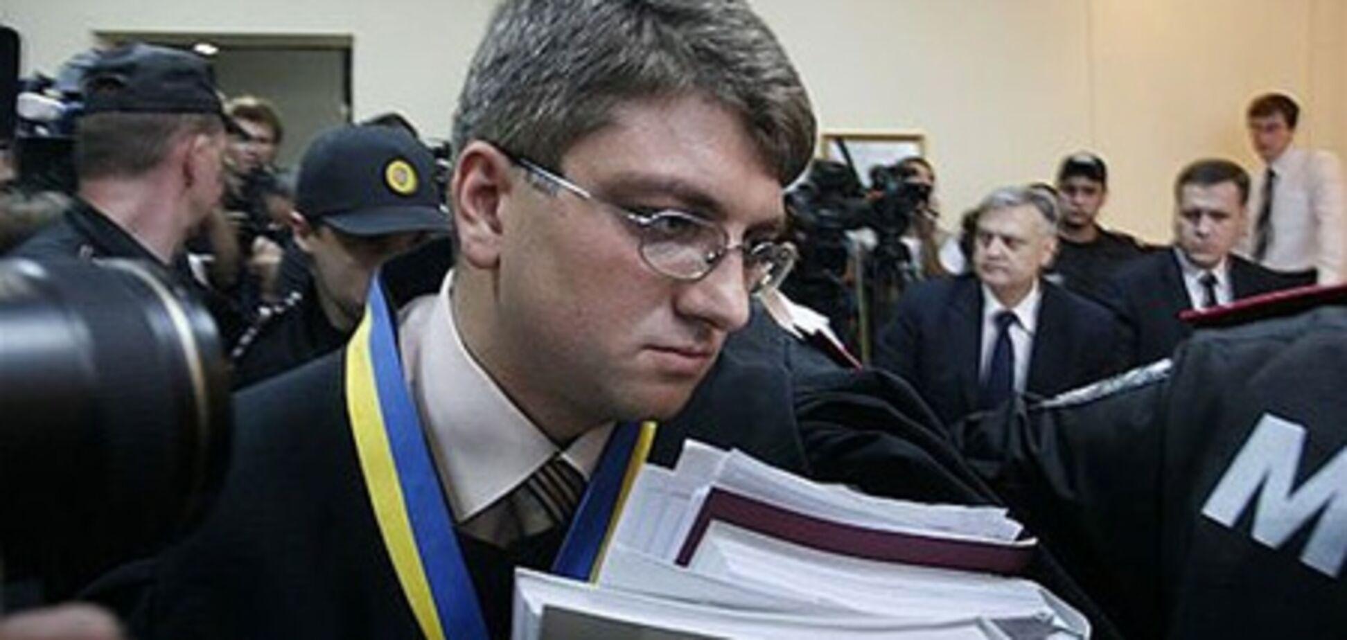Слушание дела Тимошенко продолжится 27 сентября