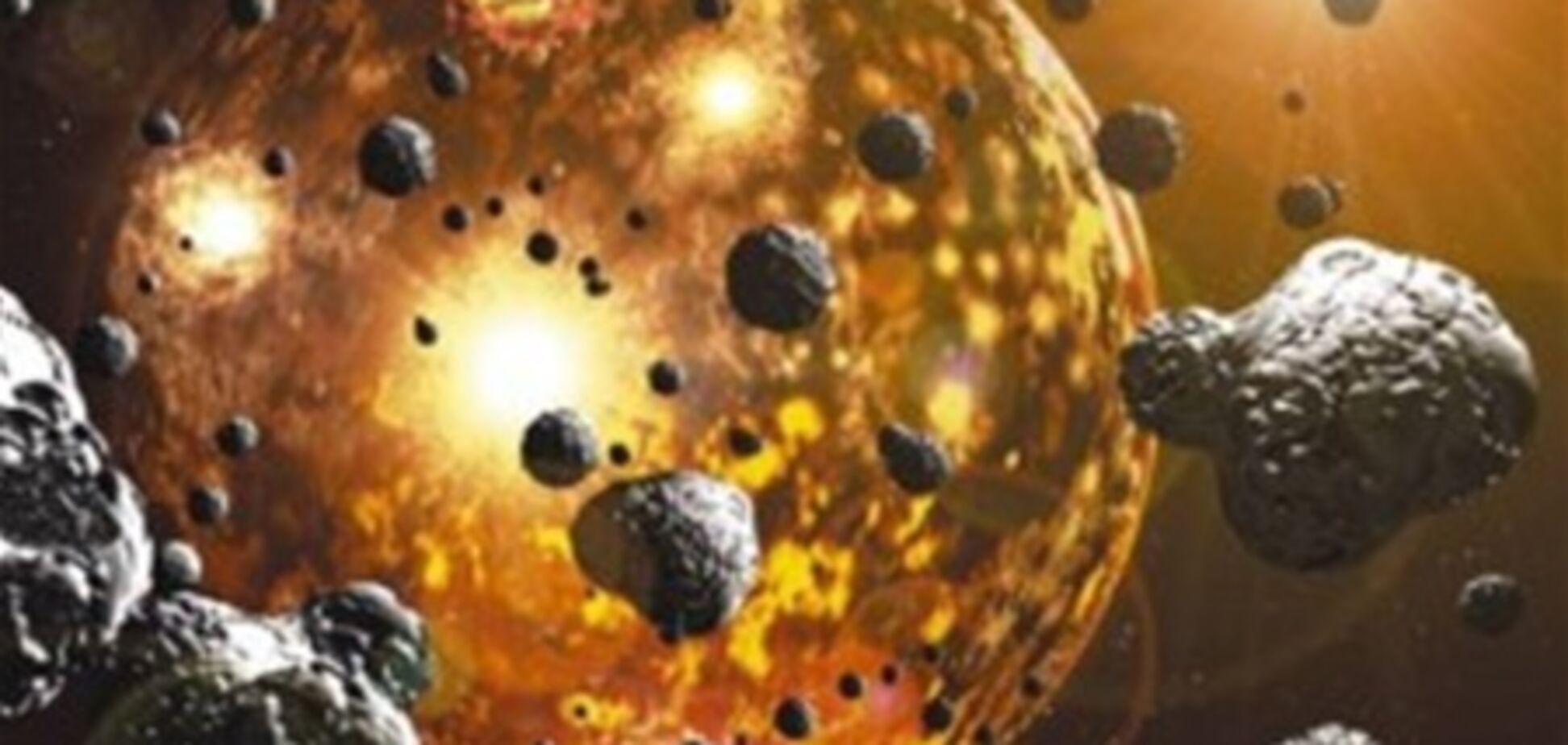 Золото и платину на Землю занесли метеориты