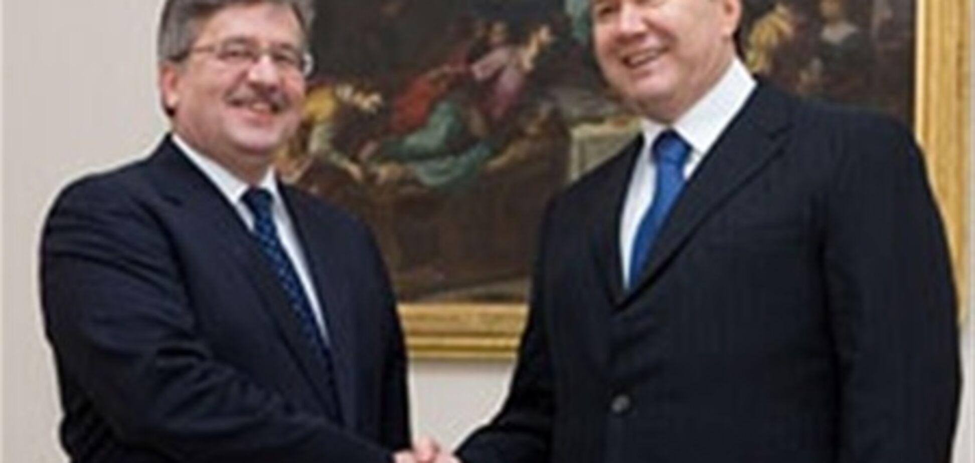 Президент Польши рассказал в Страсбурге, как Украина хочет в Европу