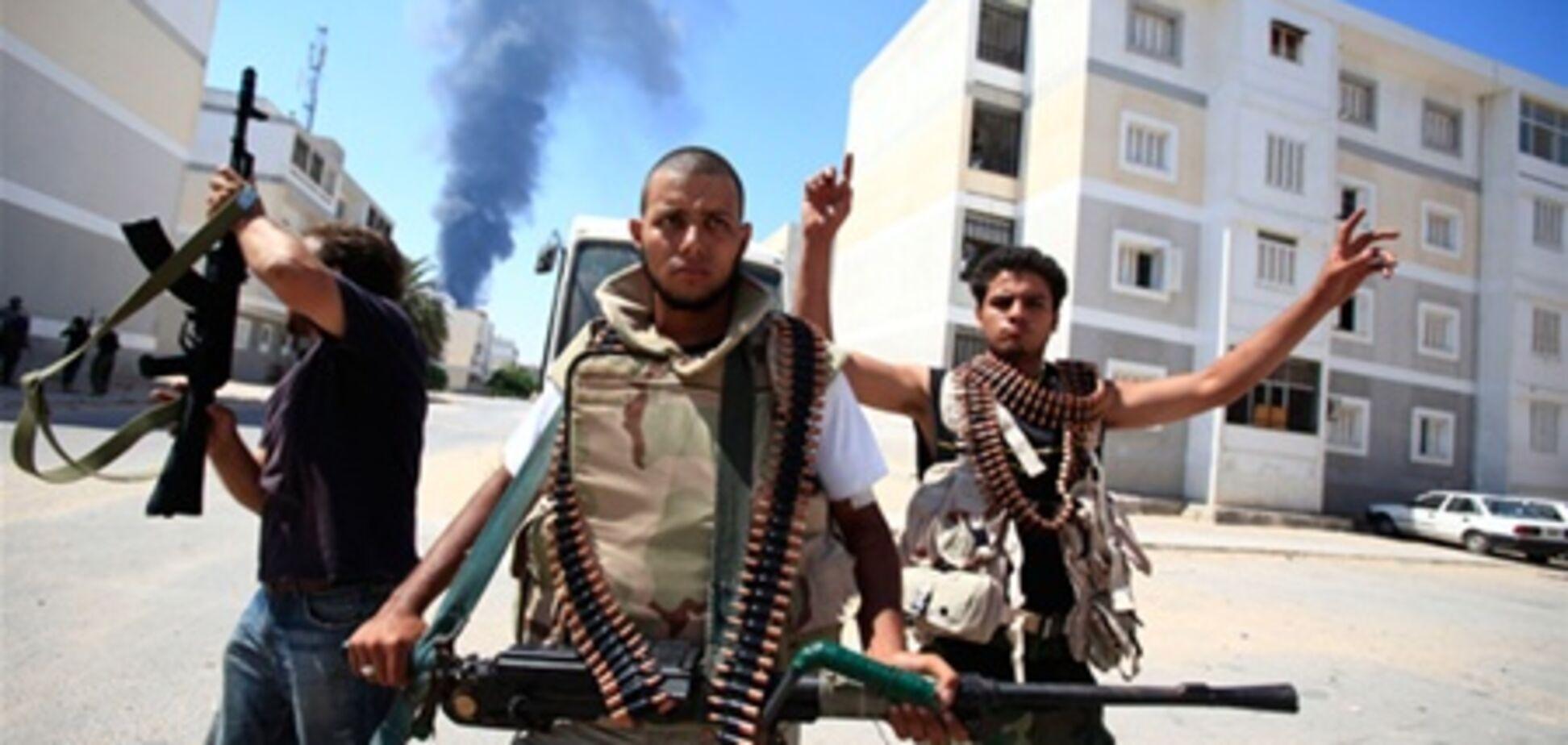 Ливийских повстанцев заподозрили в военных преступлениях