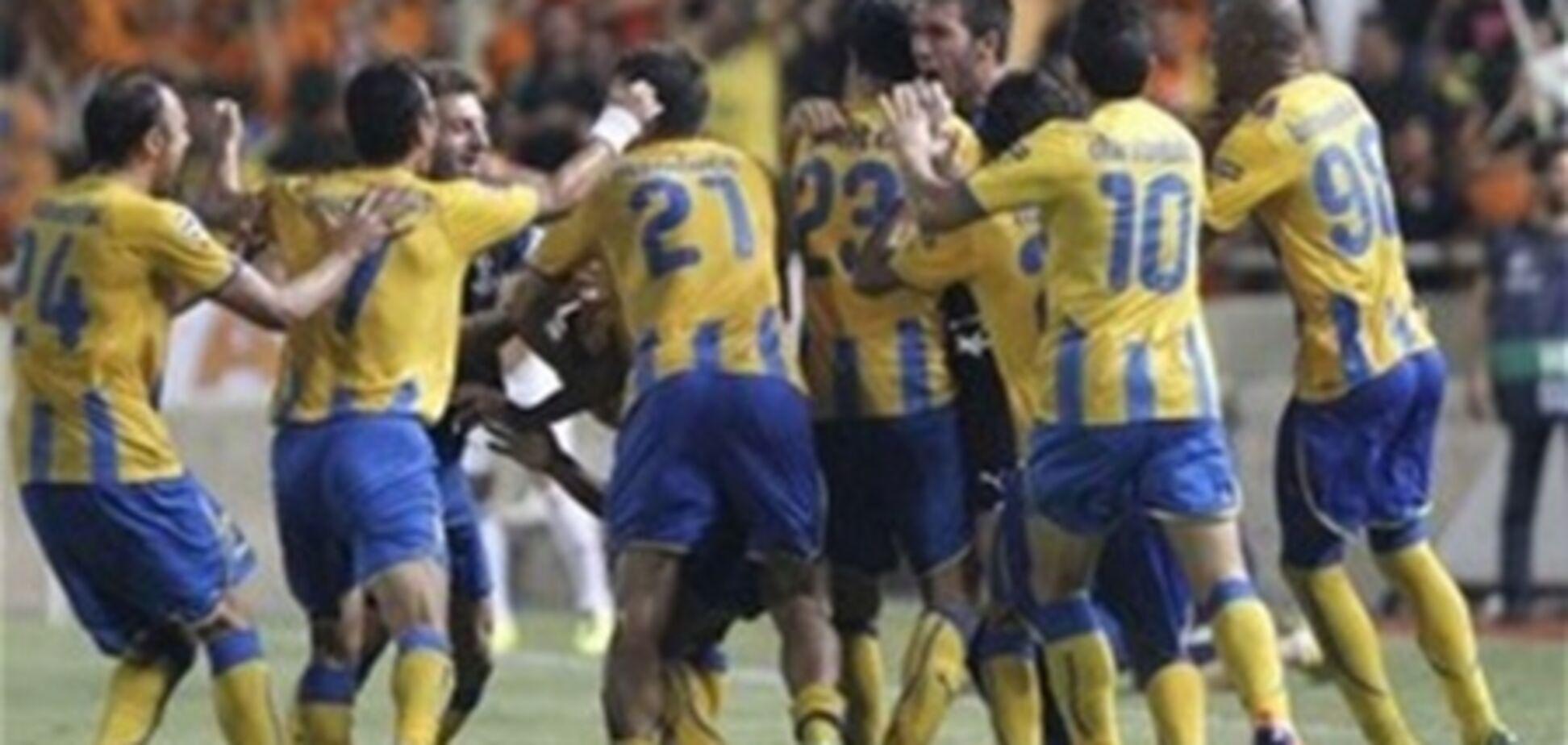 Лига чемпионов. 'Зенит' потерпел поражение на Кипре