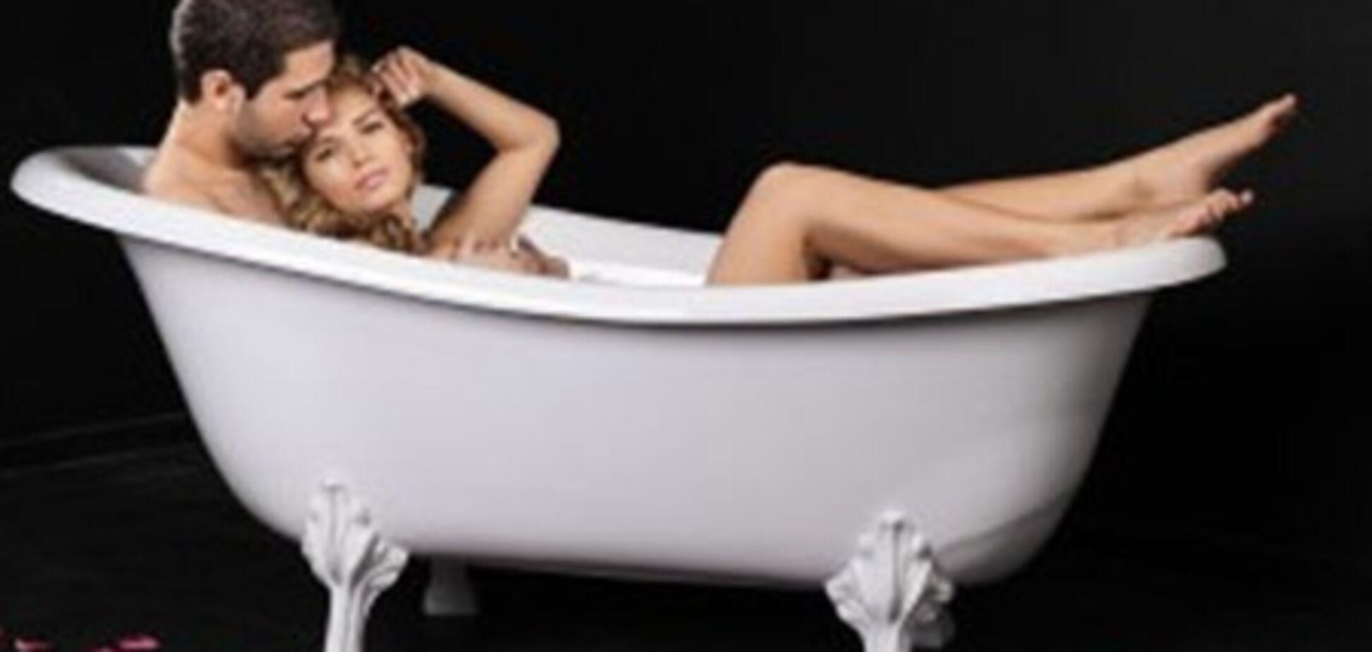 Секс в ванной: выбрана лучшая поза