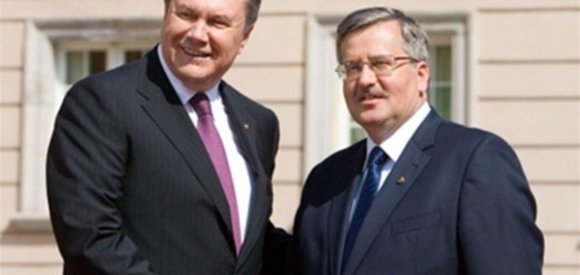Коморовский знает, как Украине быстрее интегрироваться в ЕС