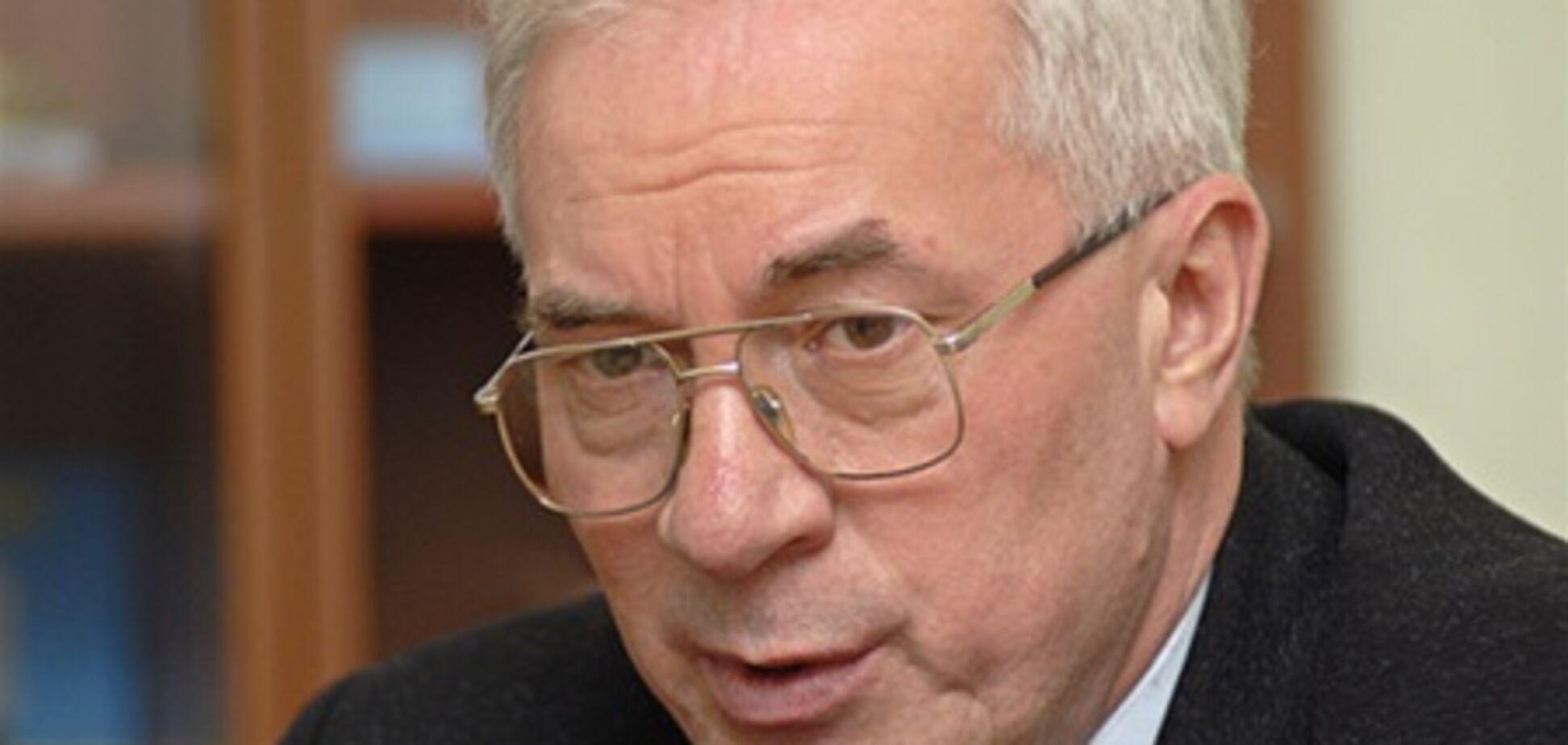Азаров: сокращение государственного долга Украины начнется с 2012 г.