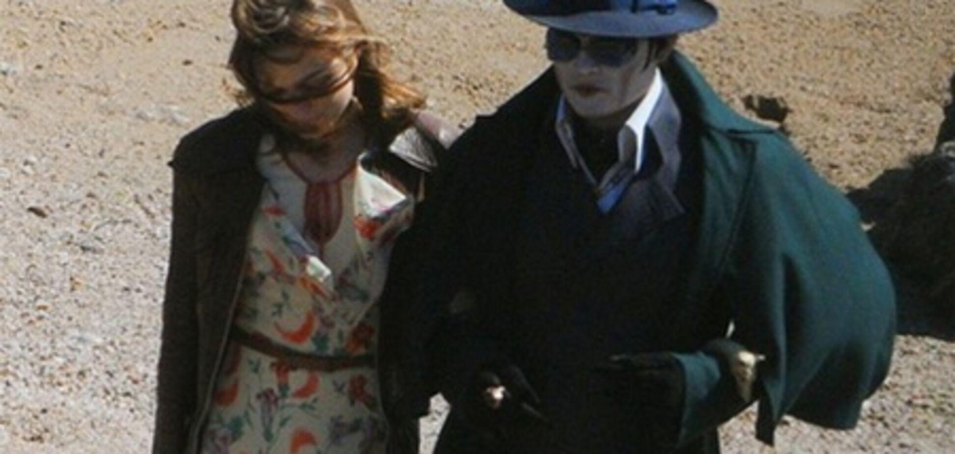 Джонни Депп в образе вампира: первые фото