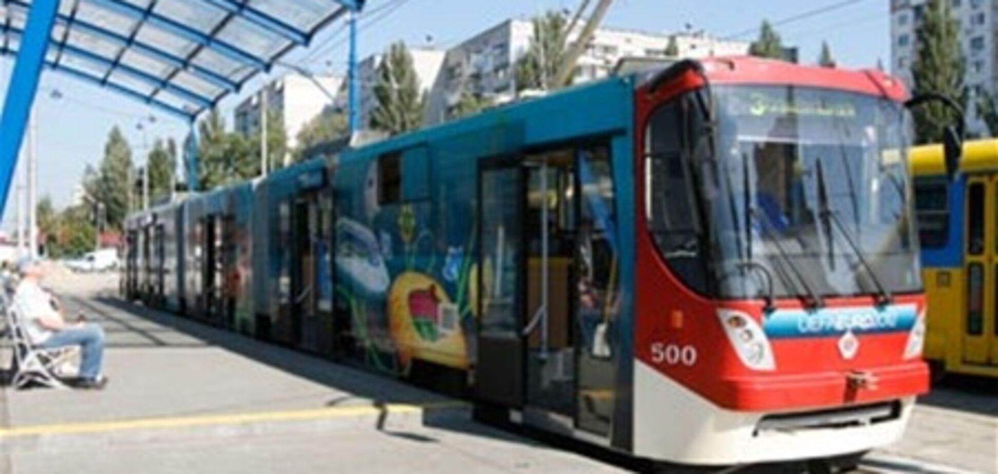 Коммунальный транспорт в Киеве загружен под завязку