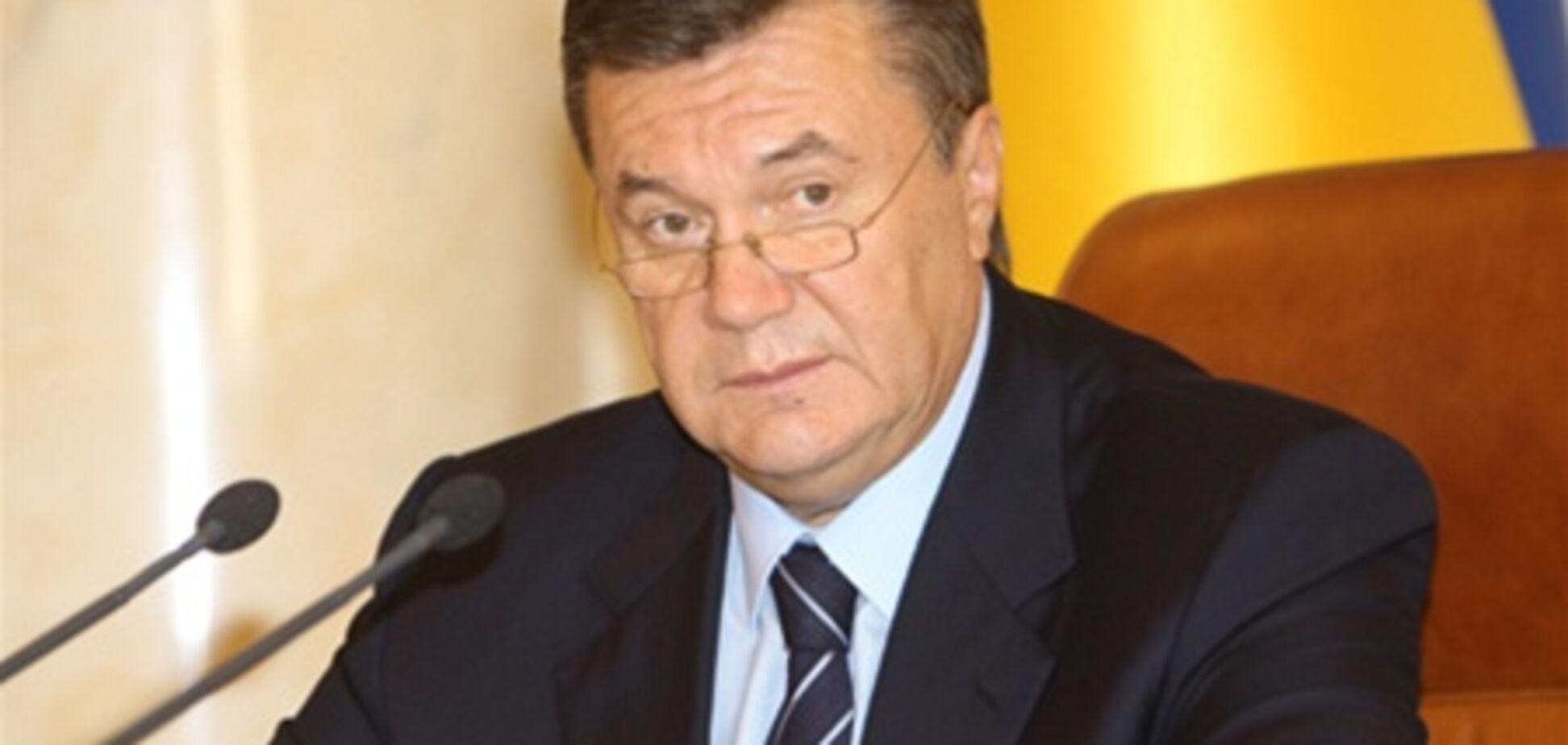 Янукович: Украина будет активно развивать альтернативную энергетику