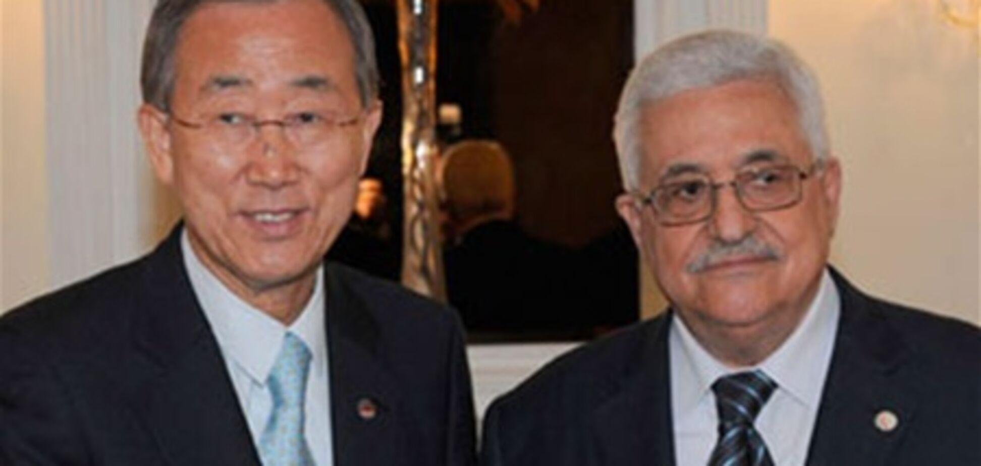 Палестина попросилась в ООН