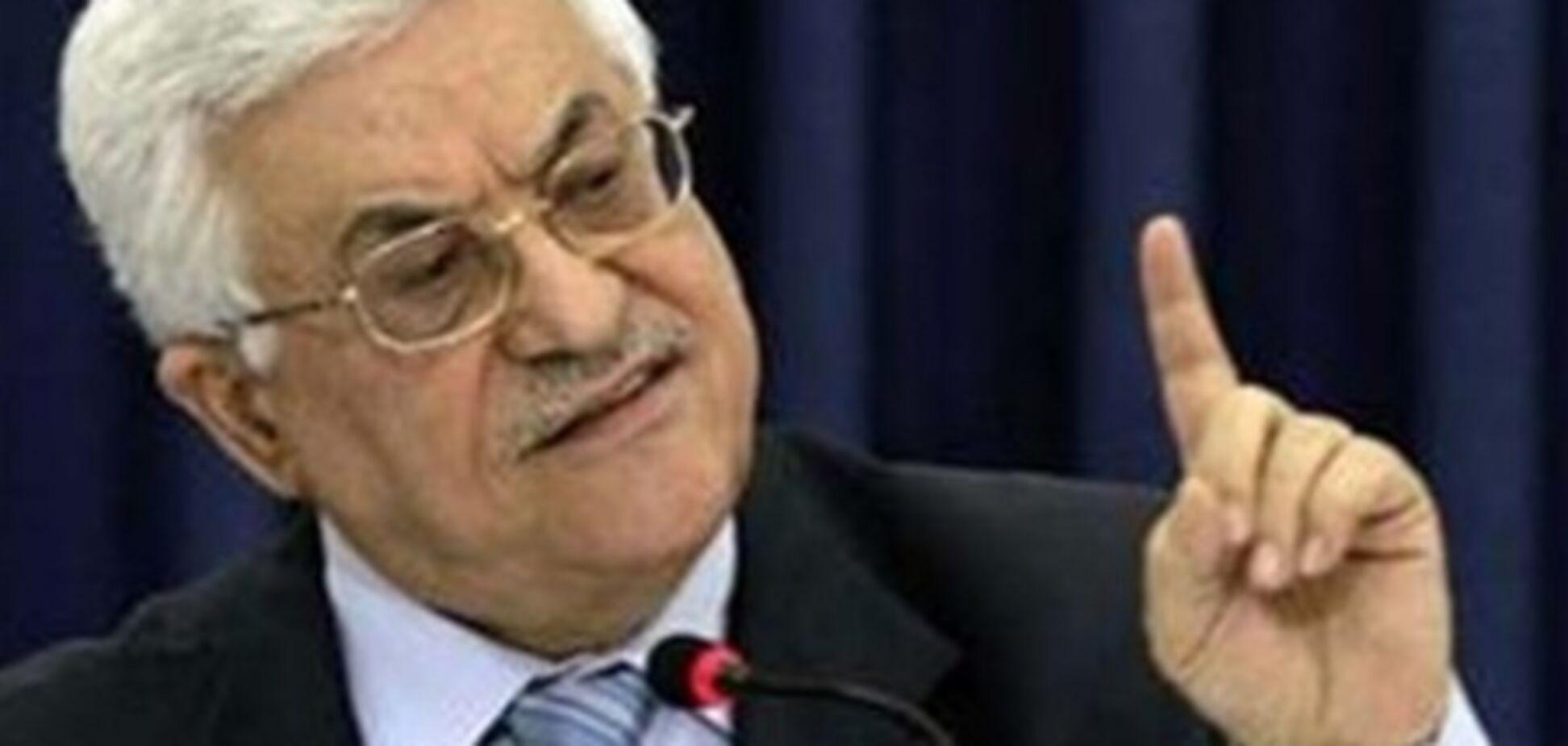 Лидер Палестины назвал премьера Израиля не способным на переговоры