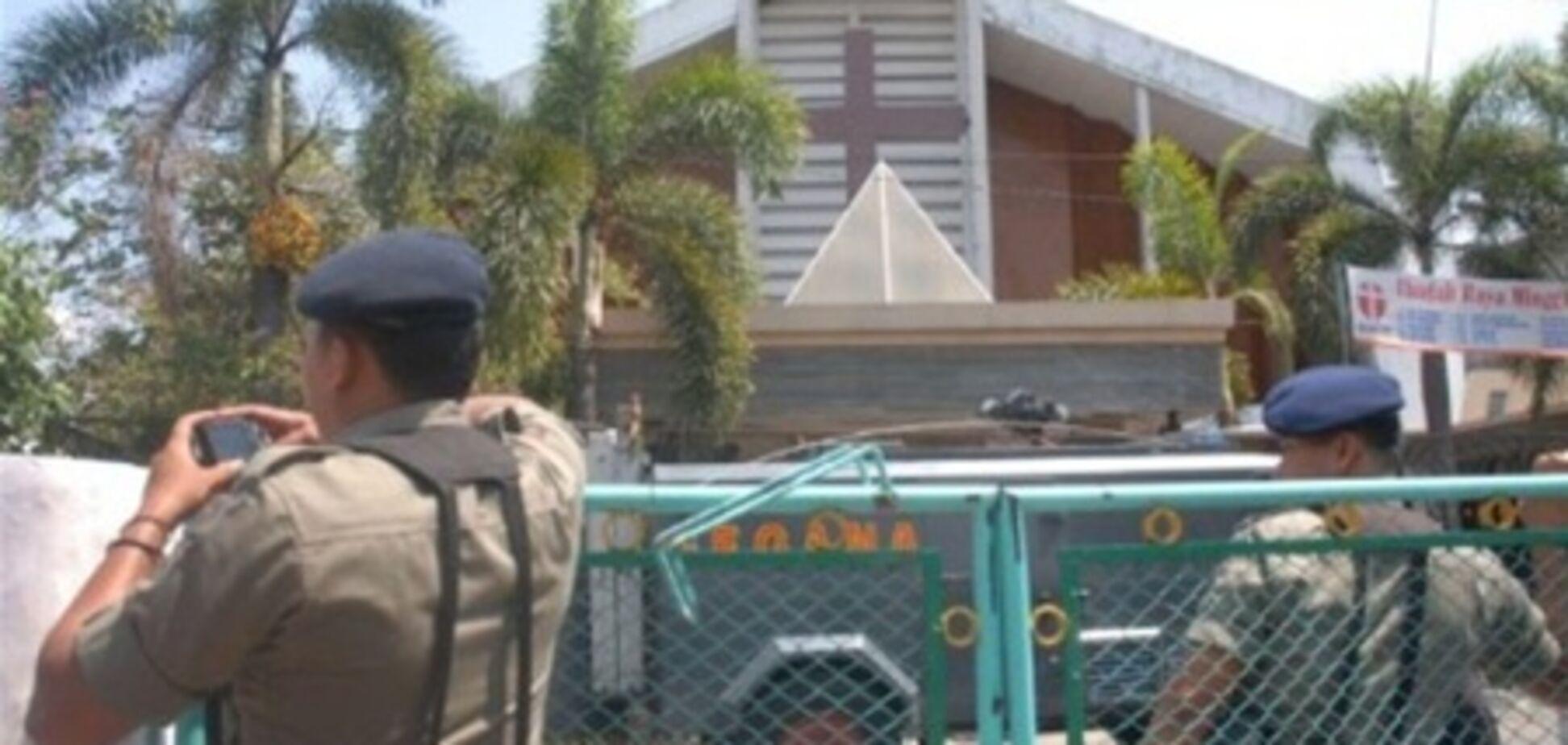 Єдиною жертвою теракту в Індонезії став сам смертник