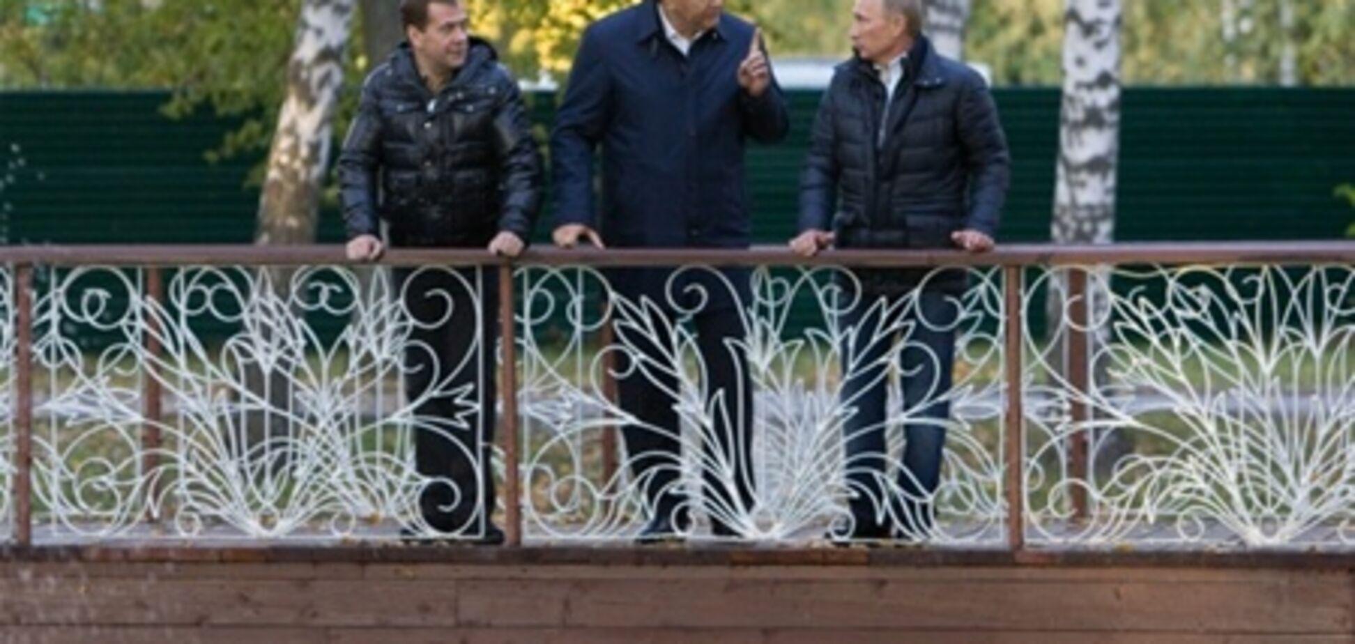 Як Янукович з Путіним і Медведєвим домовлявся