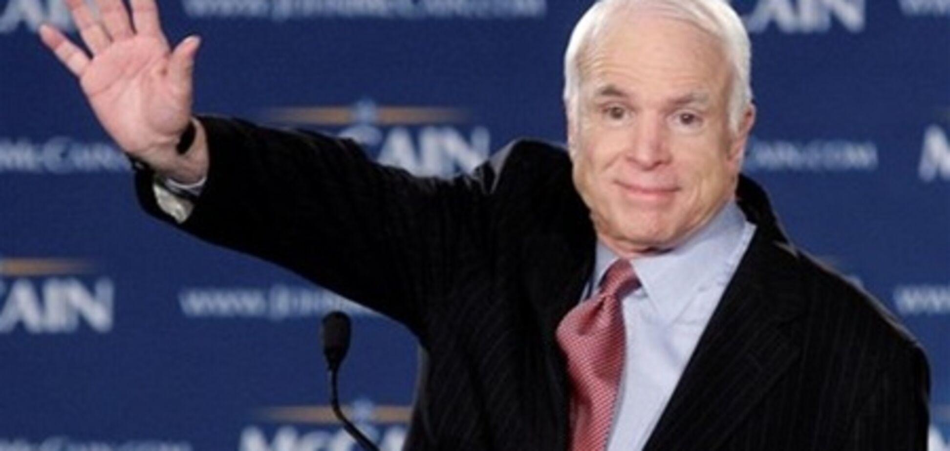 Сенатор Маккейн сказав ущипливо щодо висунення Путіна в президенти
