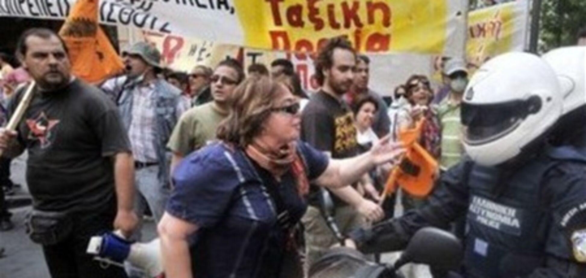 У Греції страйк паралізував громадський транспорт