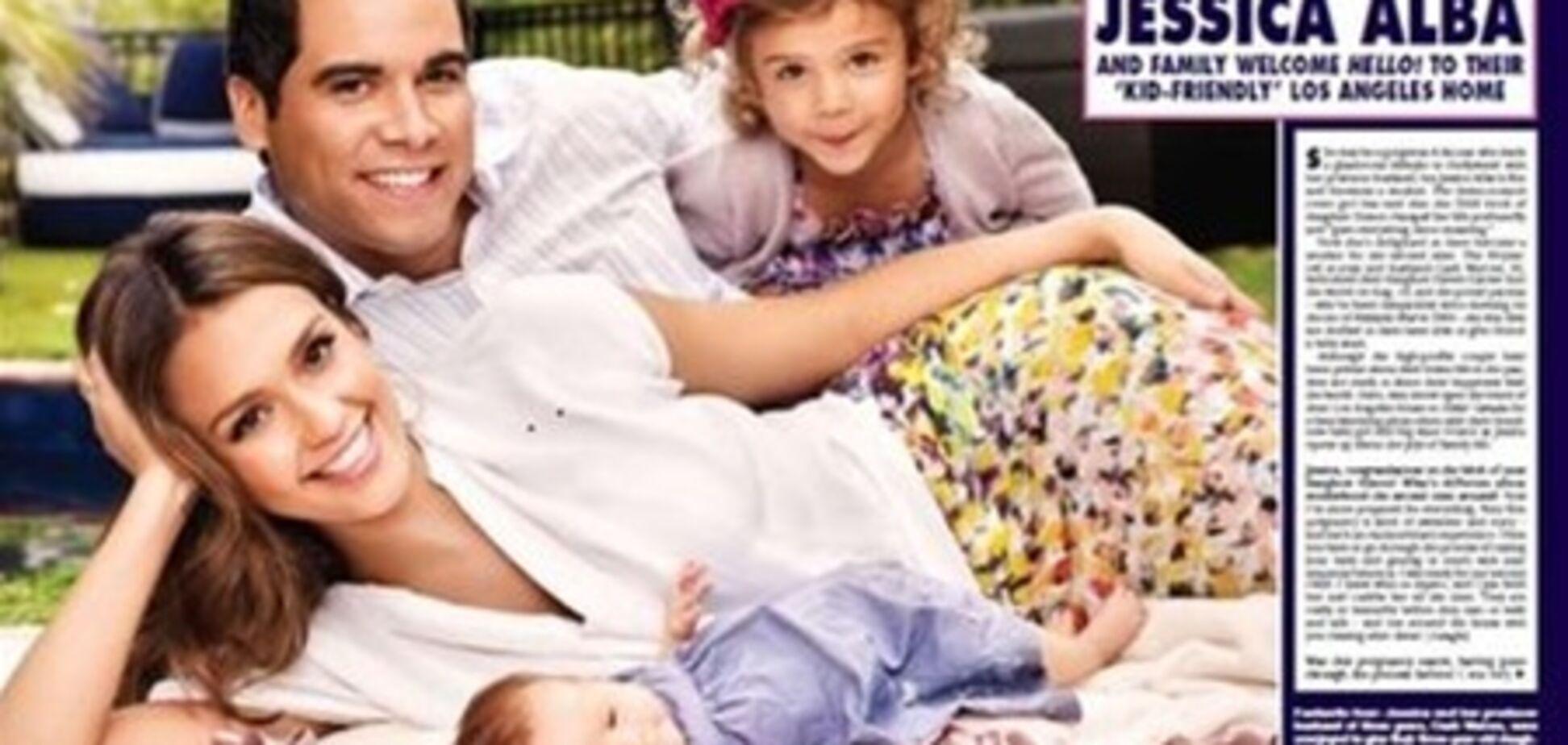 Альба и Милано показали своих малышей