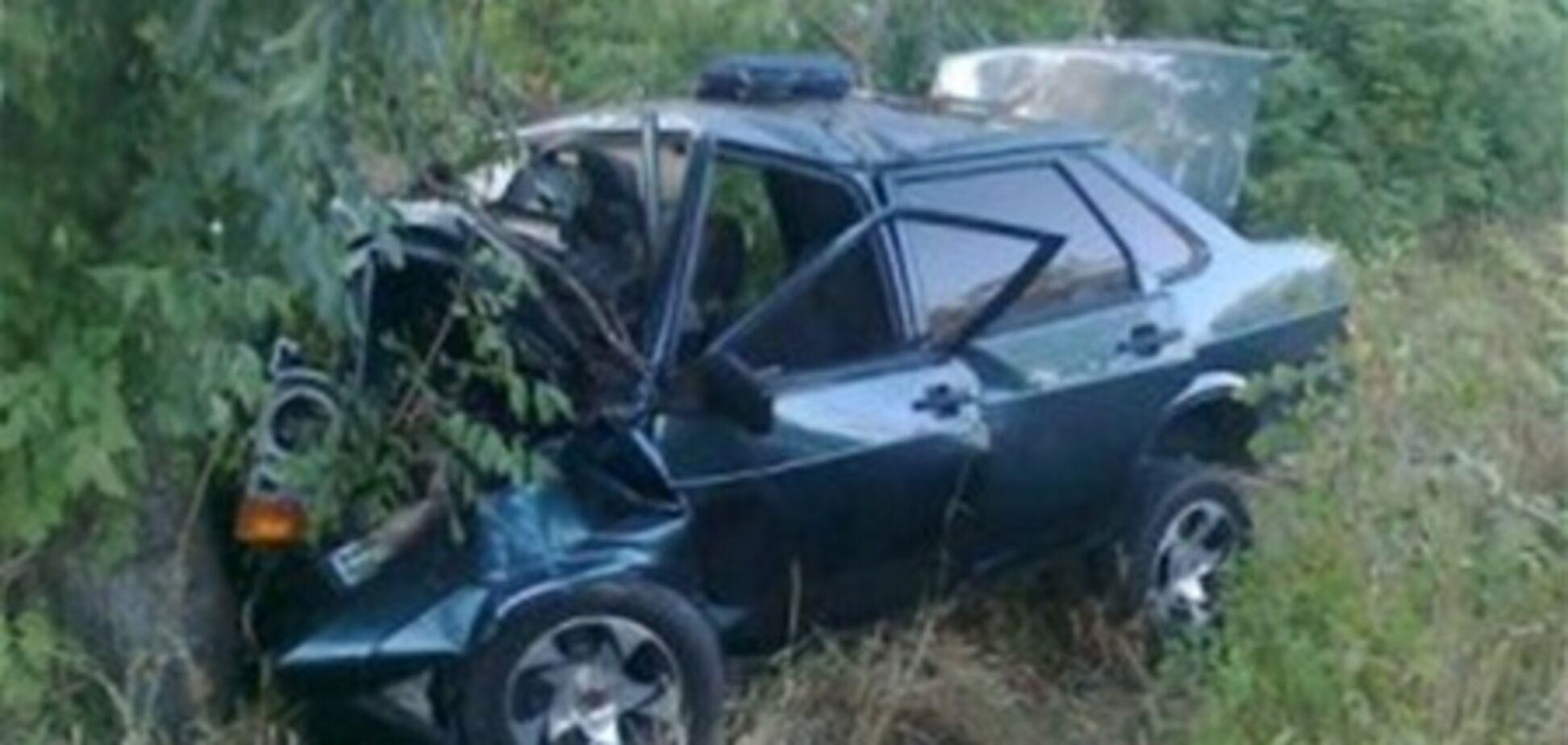В Крыму девушка на ВАЗ-21099 вылетела с моста, погиб младенец