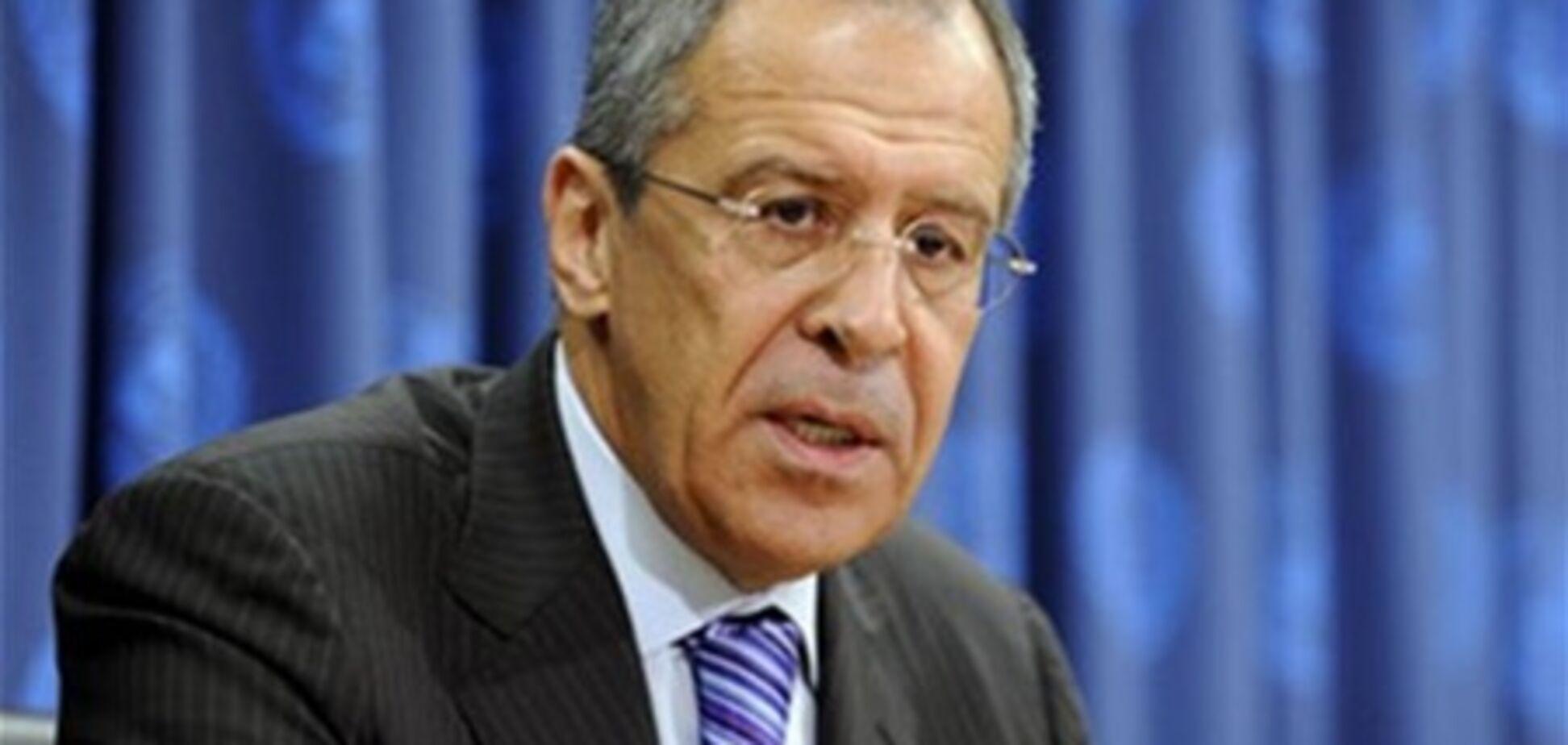Лавров: РФ не намагається загнати Україну у Митний союз