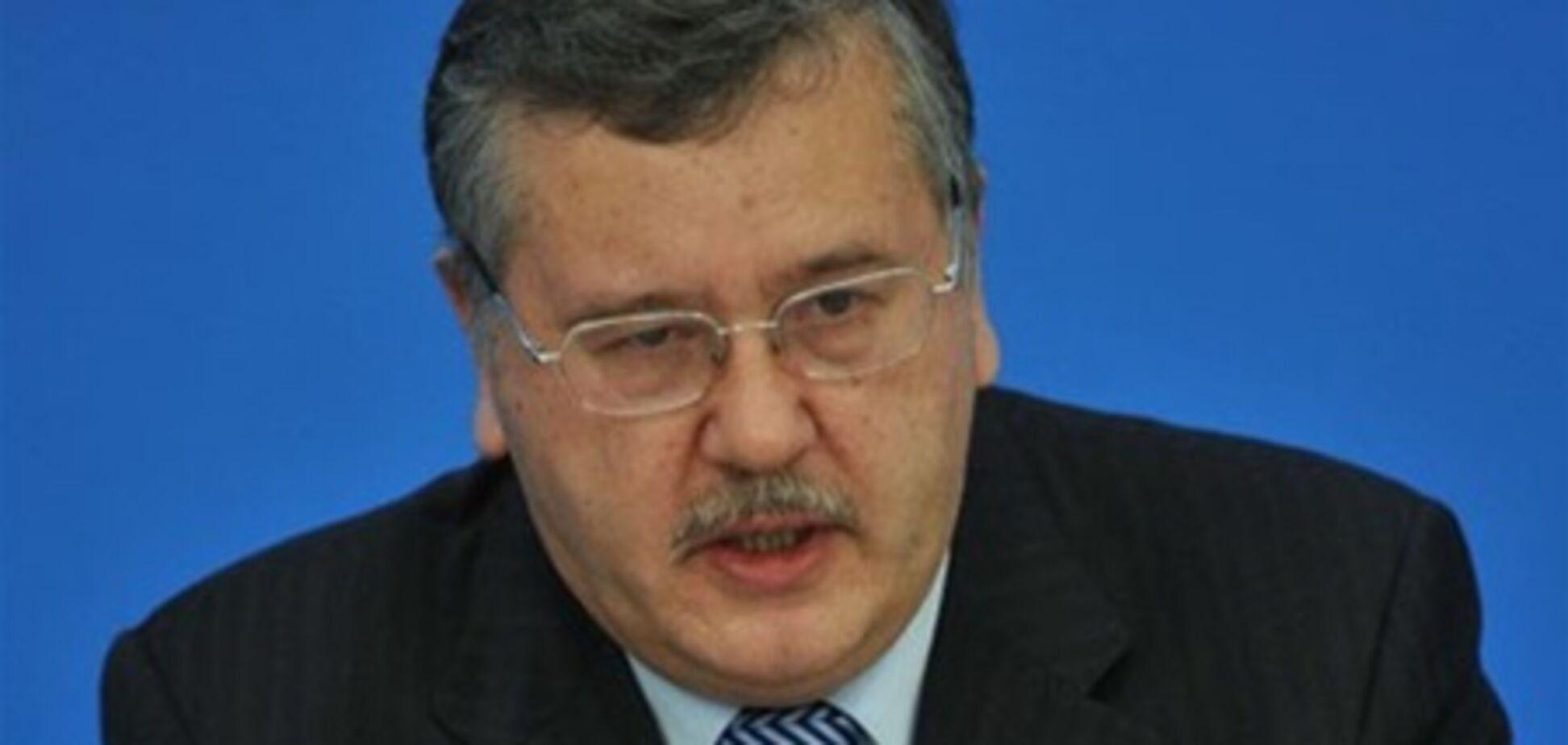 Гриценко: в олігархів є жирок, щоб самим заплатити за російський газ