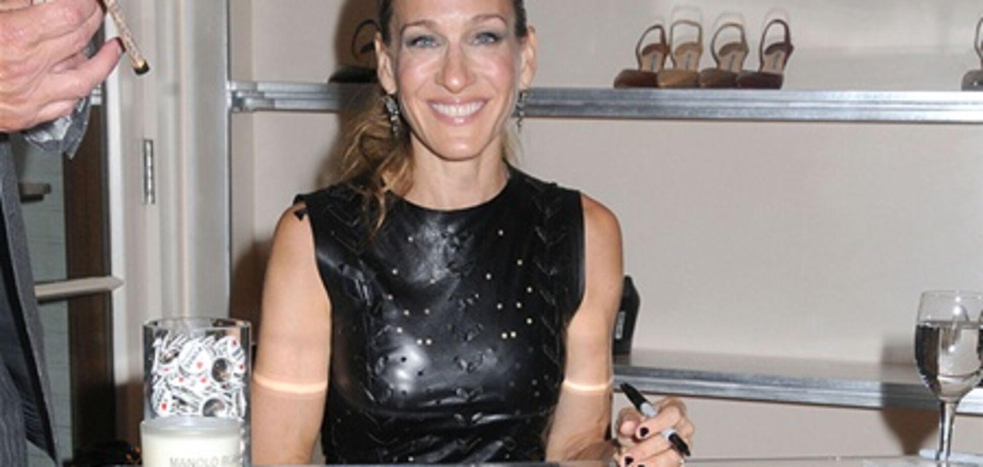 Звезды закупились на Fashion's Night Out-2011