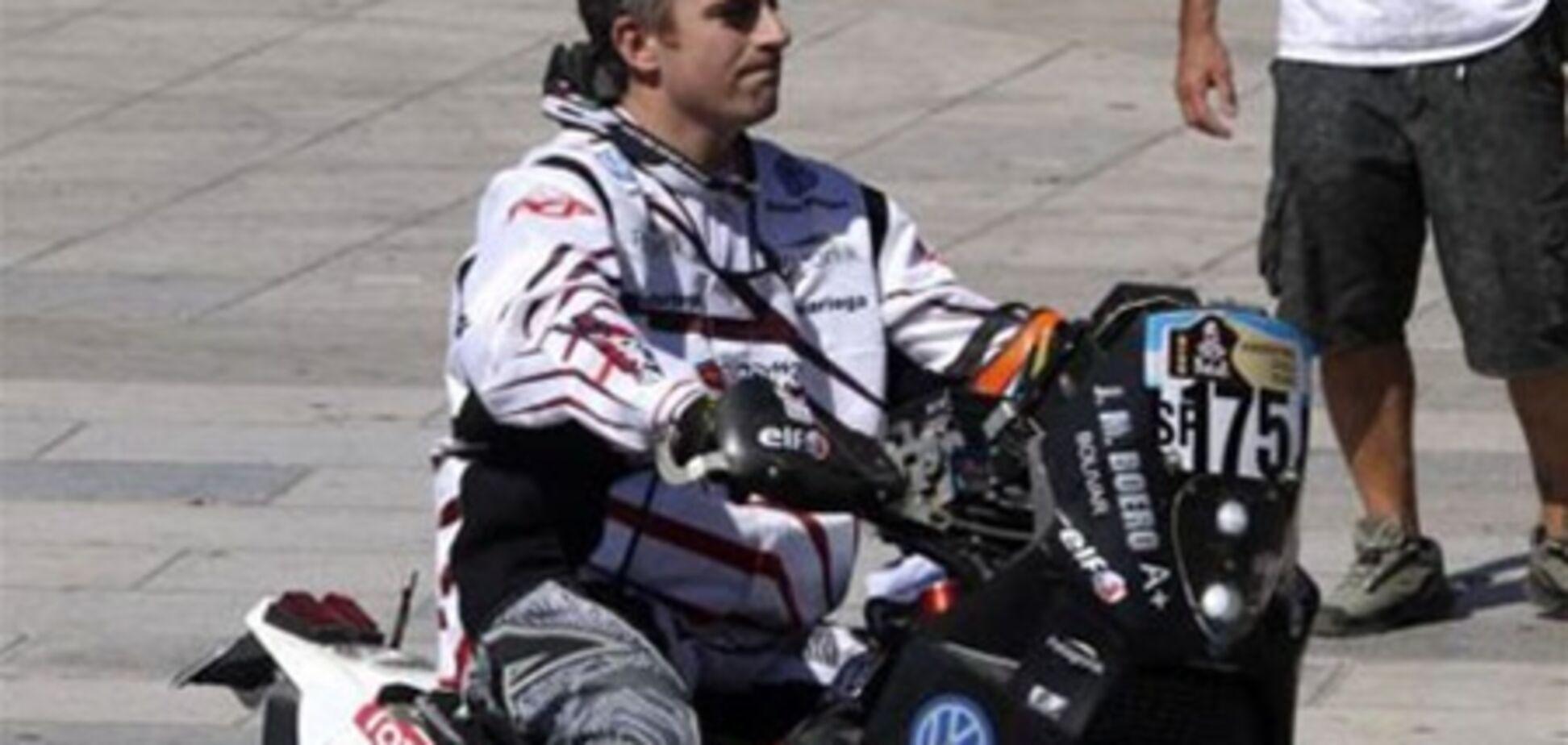 На Дакар-2012 загинув гонщик