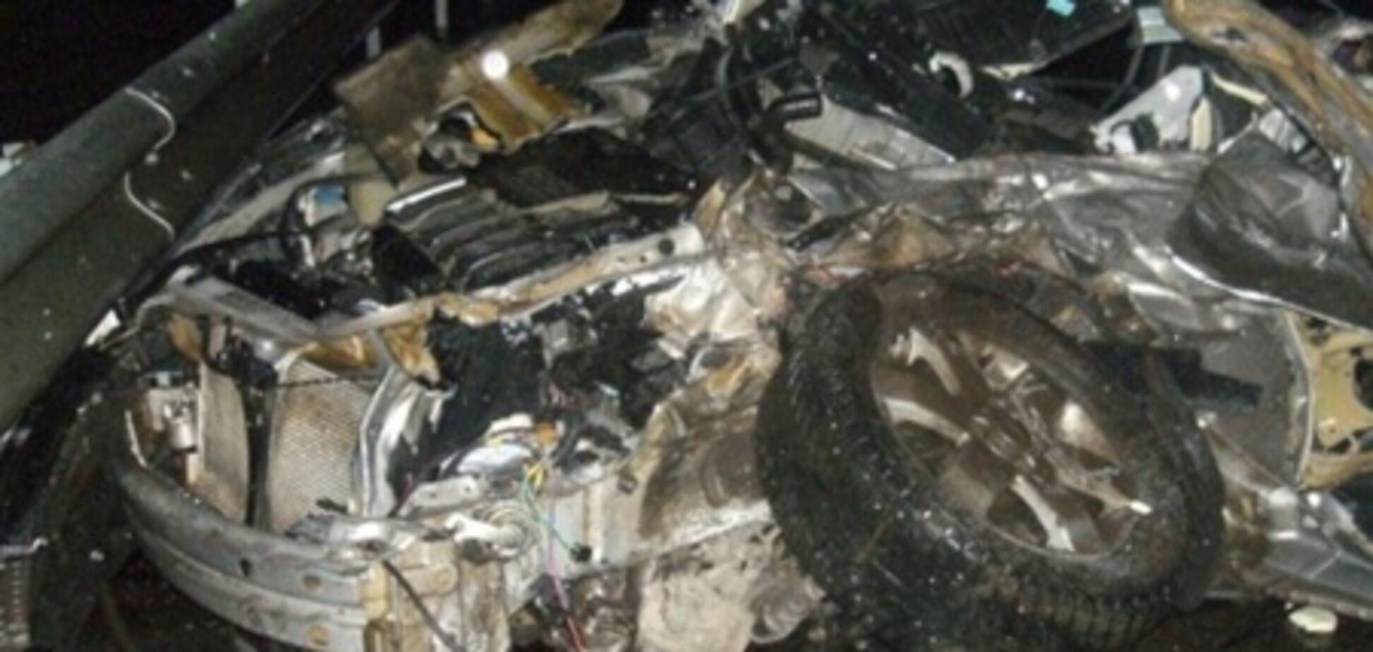 Харківщина. КАМАЗ влетів у дві автівки, троє загиблих. Фото