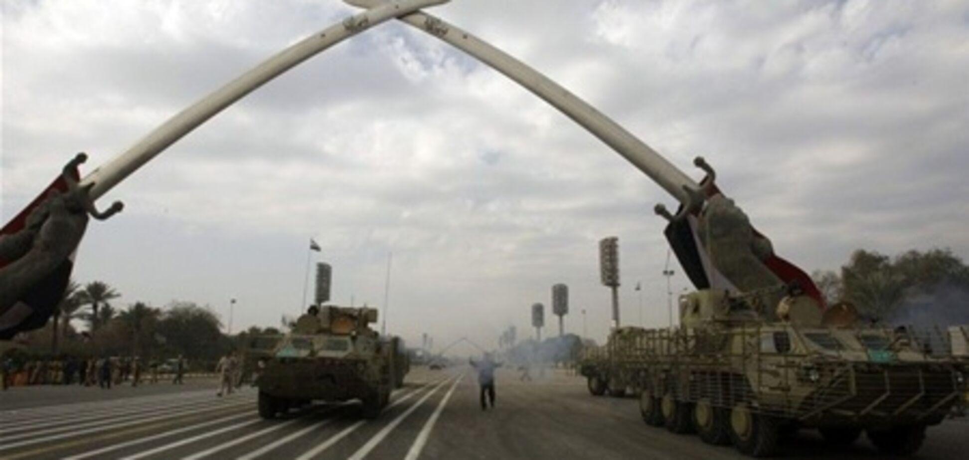 Шість БТР-4 українського виробництва брали участь у військовому параді в Багдаді