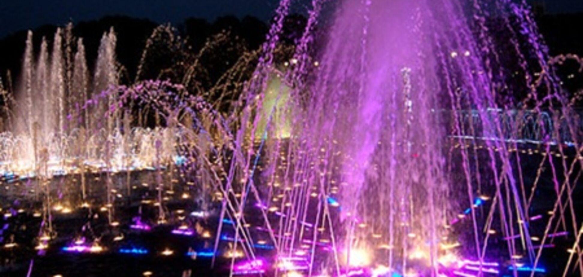 В Киеве построят три светомузыкальных фонтана
