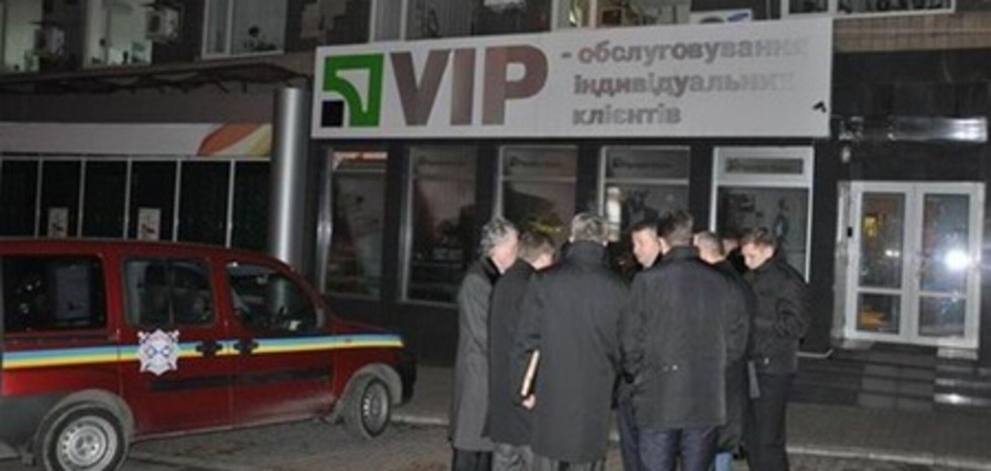 Ограбление банка в Донецке: следственный эксперимент. Видео