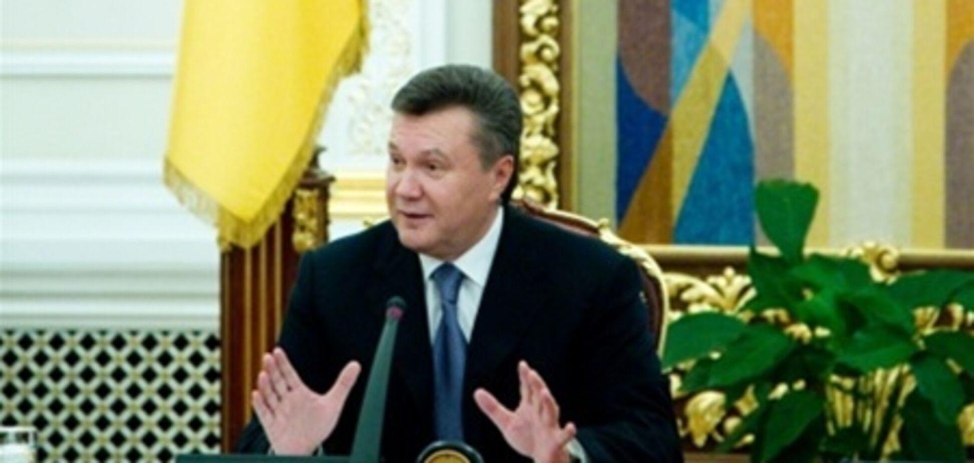 Янукович схвалив закон про держслужбу