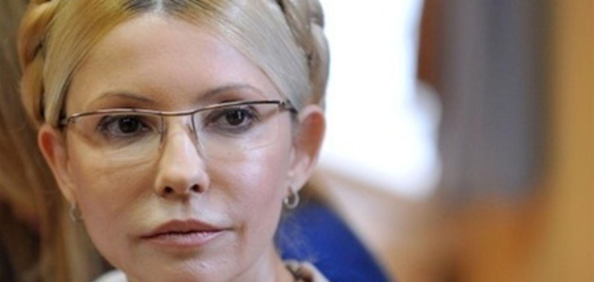 Минздрав не нашел у Тимошенко признаков обморока