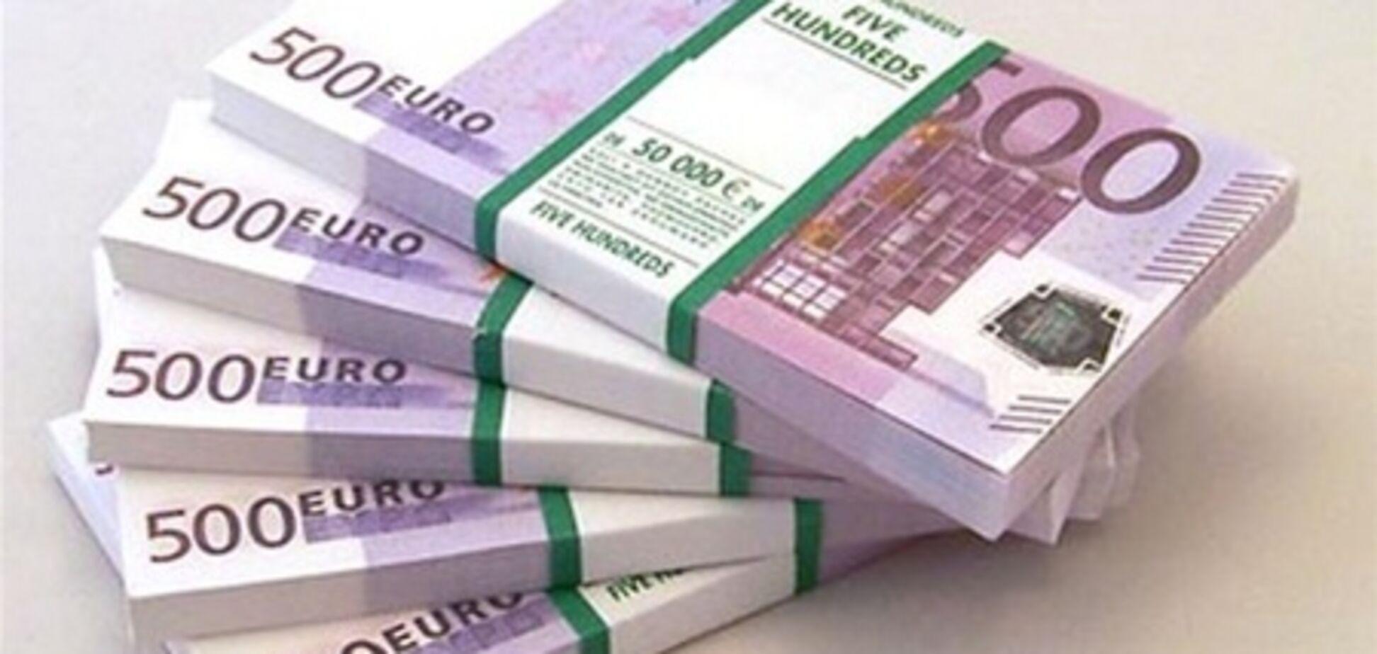 В Украине подорожал евро, 11 января 2012
