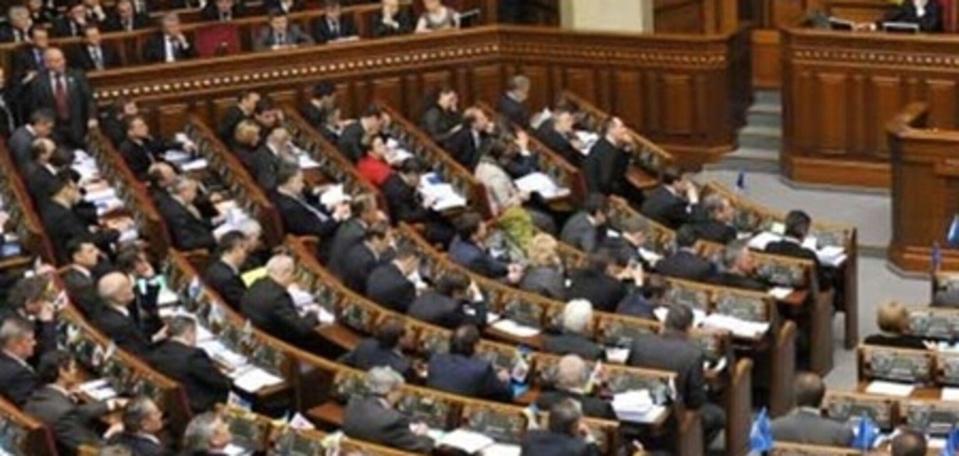 Депутатам заборонили ініціювати денонсацію міжнародних угод