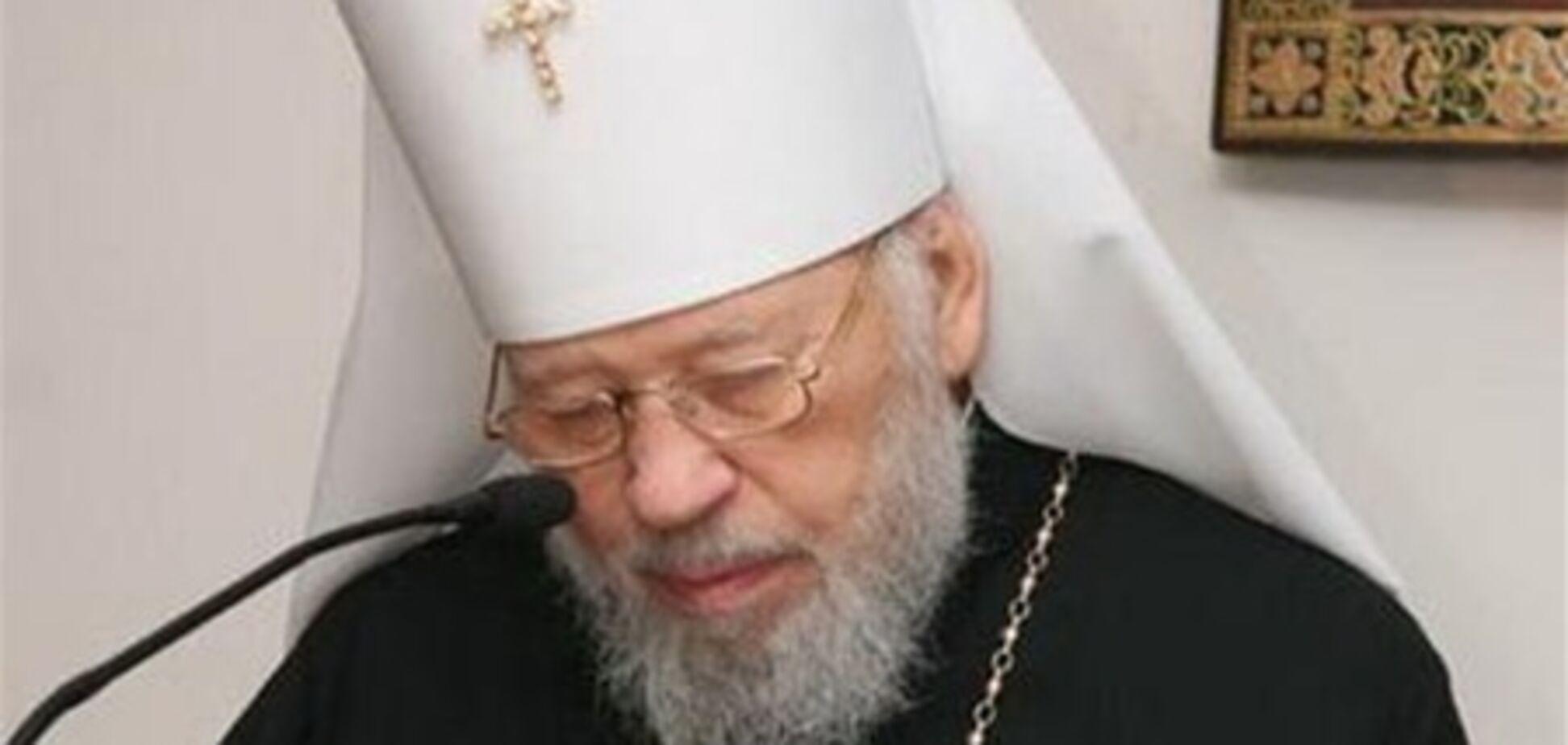 Митрополиту Володимиру можуть призначити тимчасову заміну