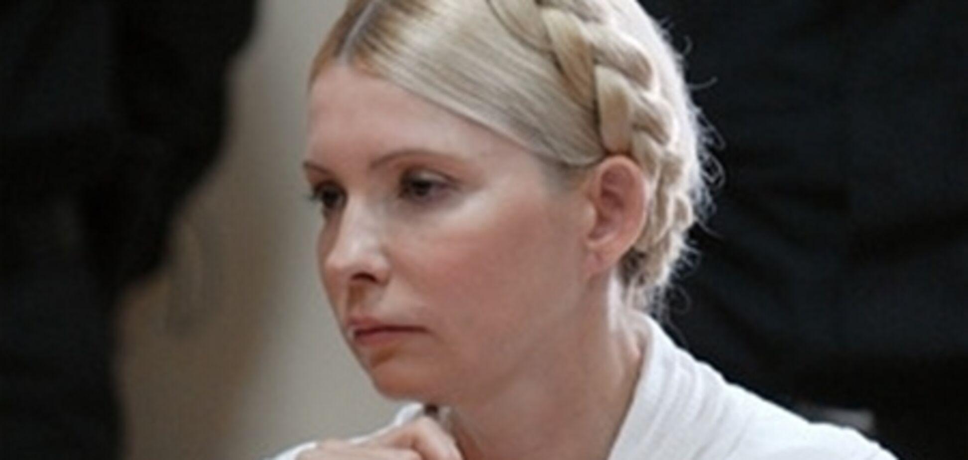 Головний тюремник: у Тимошенко впав тиск після 30 хвилин у душі