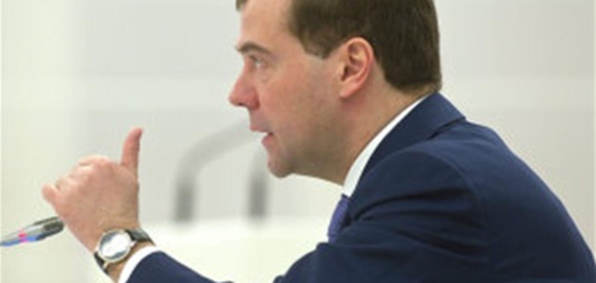 Медведєв дав зрозуміти, що 'Газпром' може обійтися без української ГТС