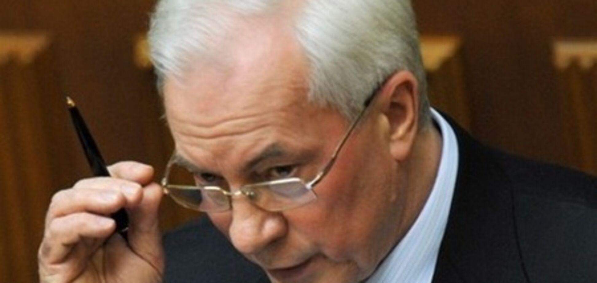 Депутати не захотіли слухати Азарова за договором про ЗВТ з СНД