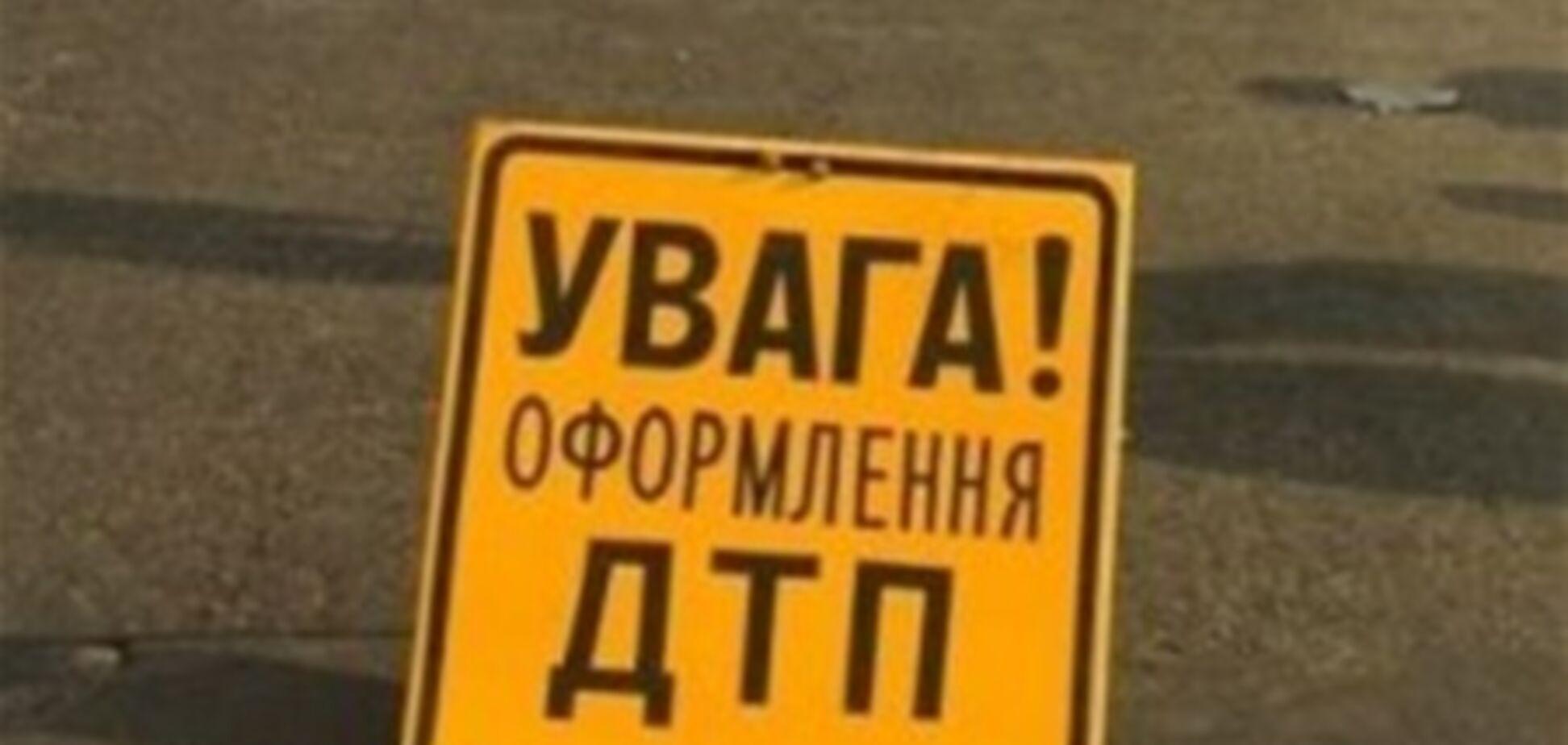 В Чернигове автомобиль начальника областной милиции попал в ДТП